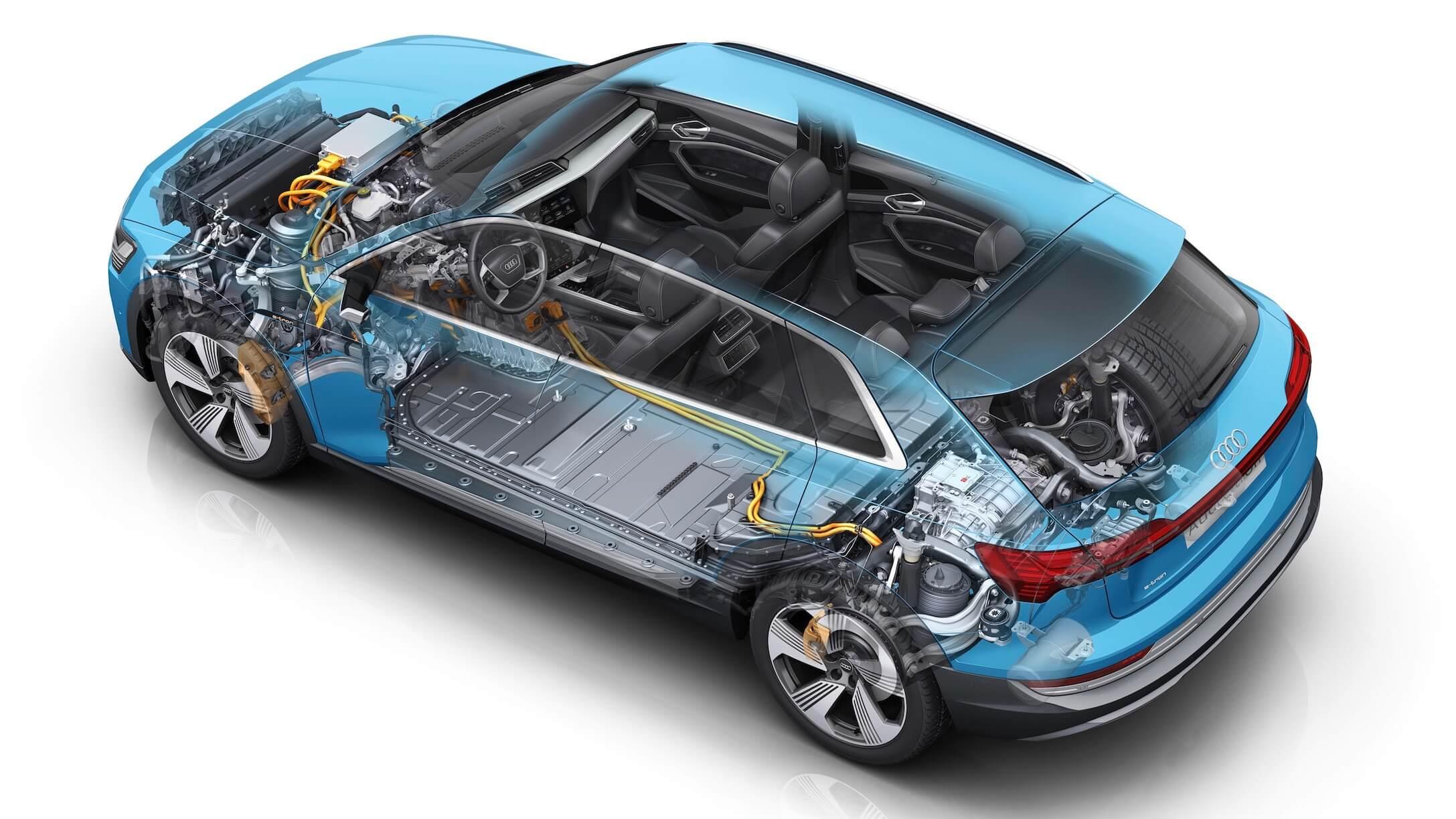 Audi e-tron batterij