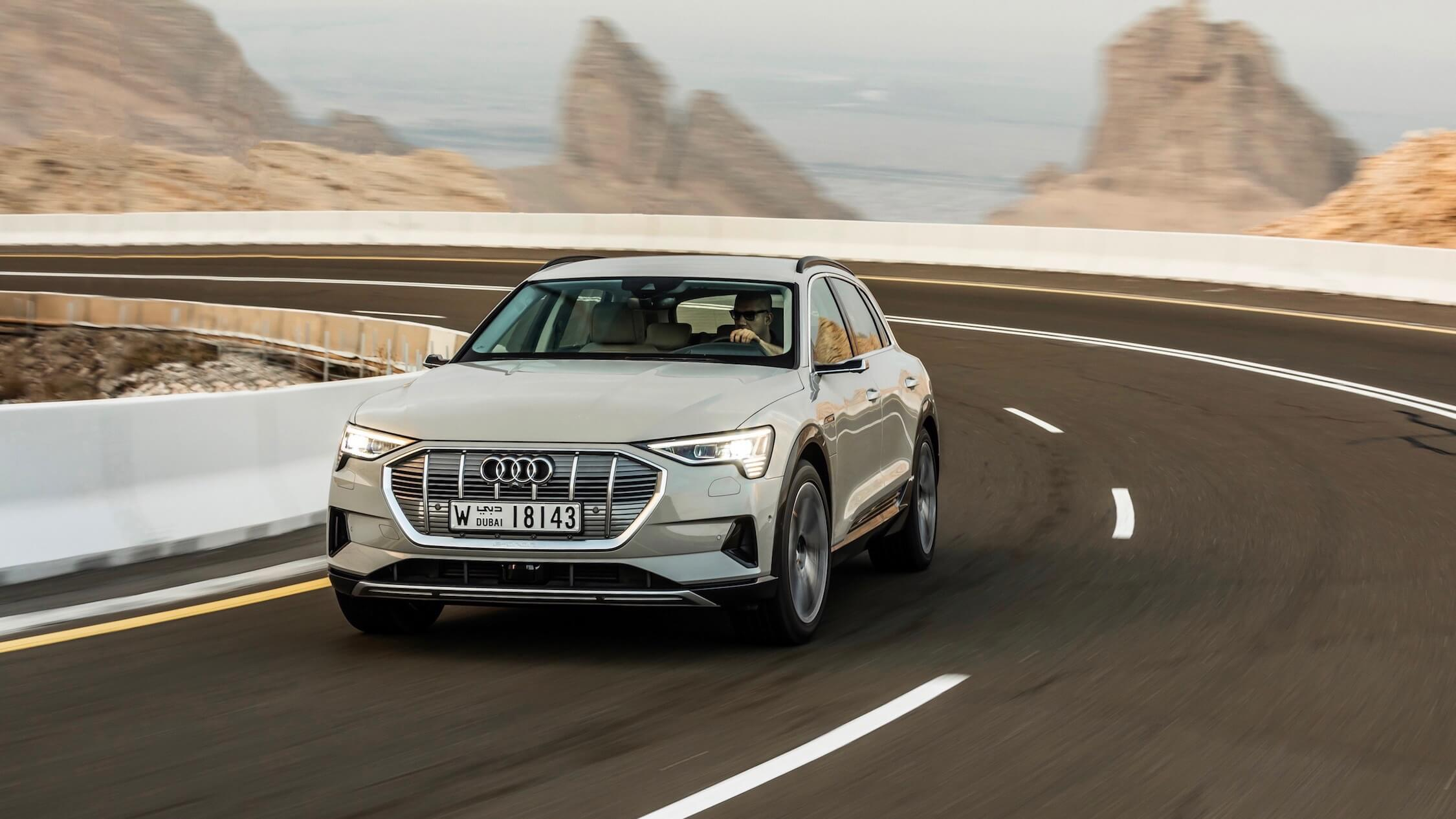 Audi e-tron beige