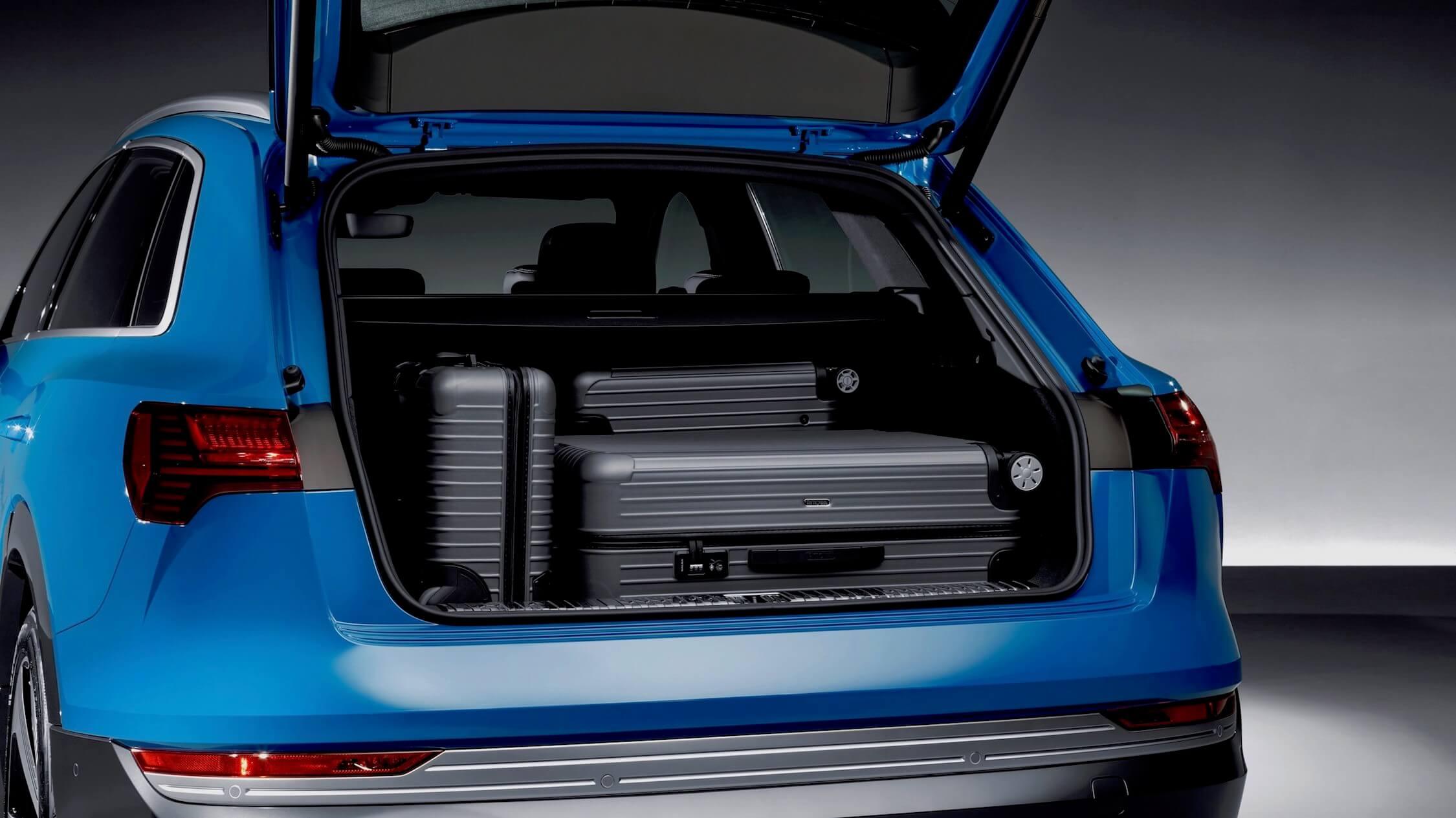 Audi e-tron kofferbak