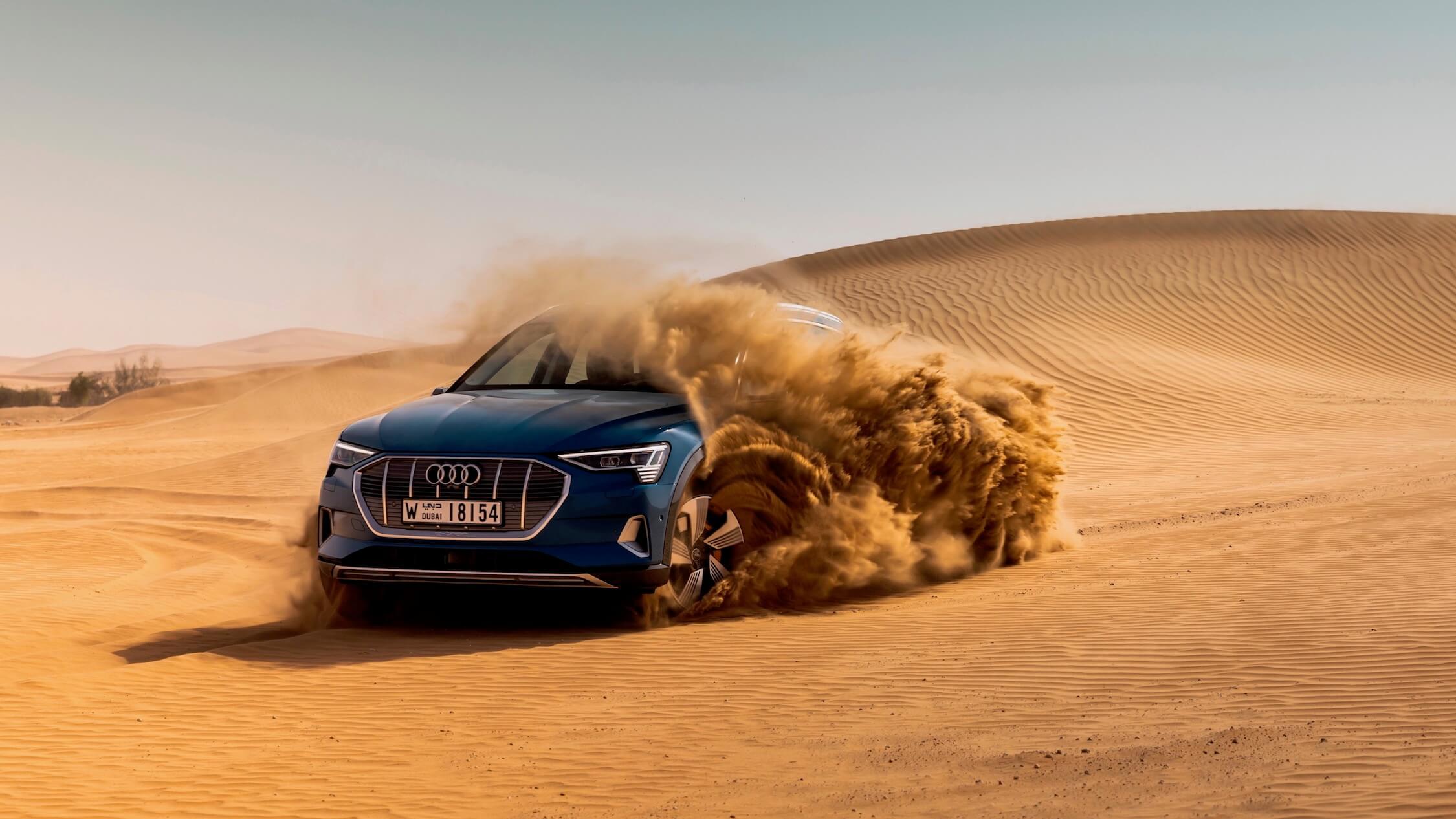 Audi e-tron offroad