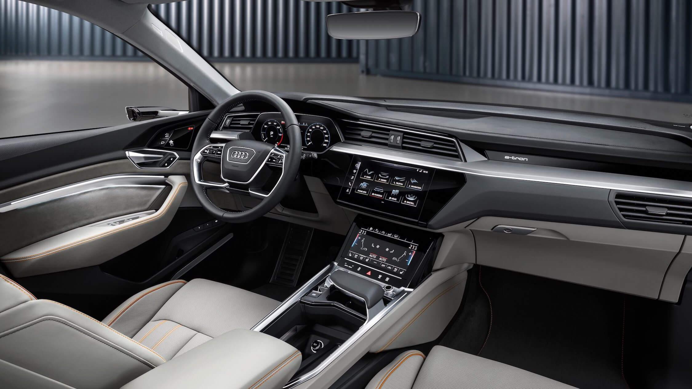 Audi e-tron stuurwiel