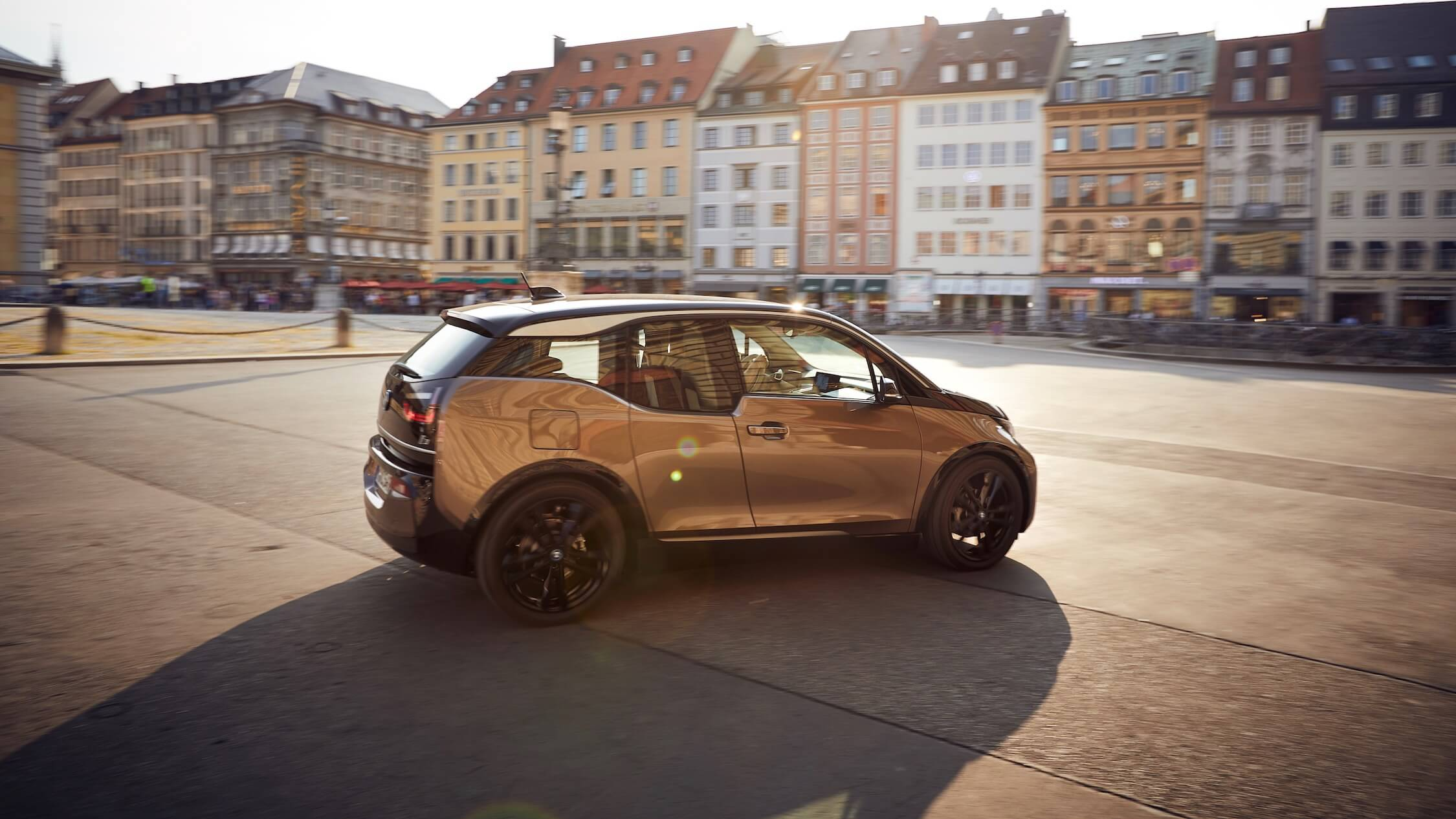 BMW i3 rijdend