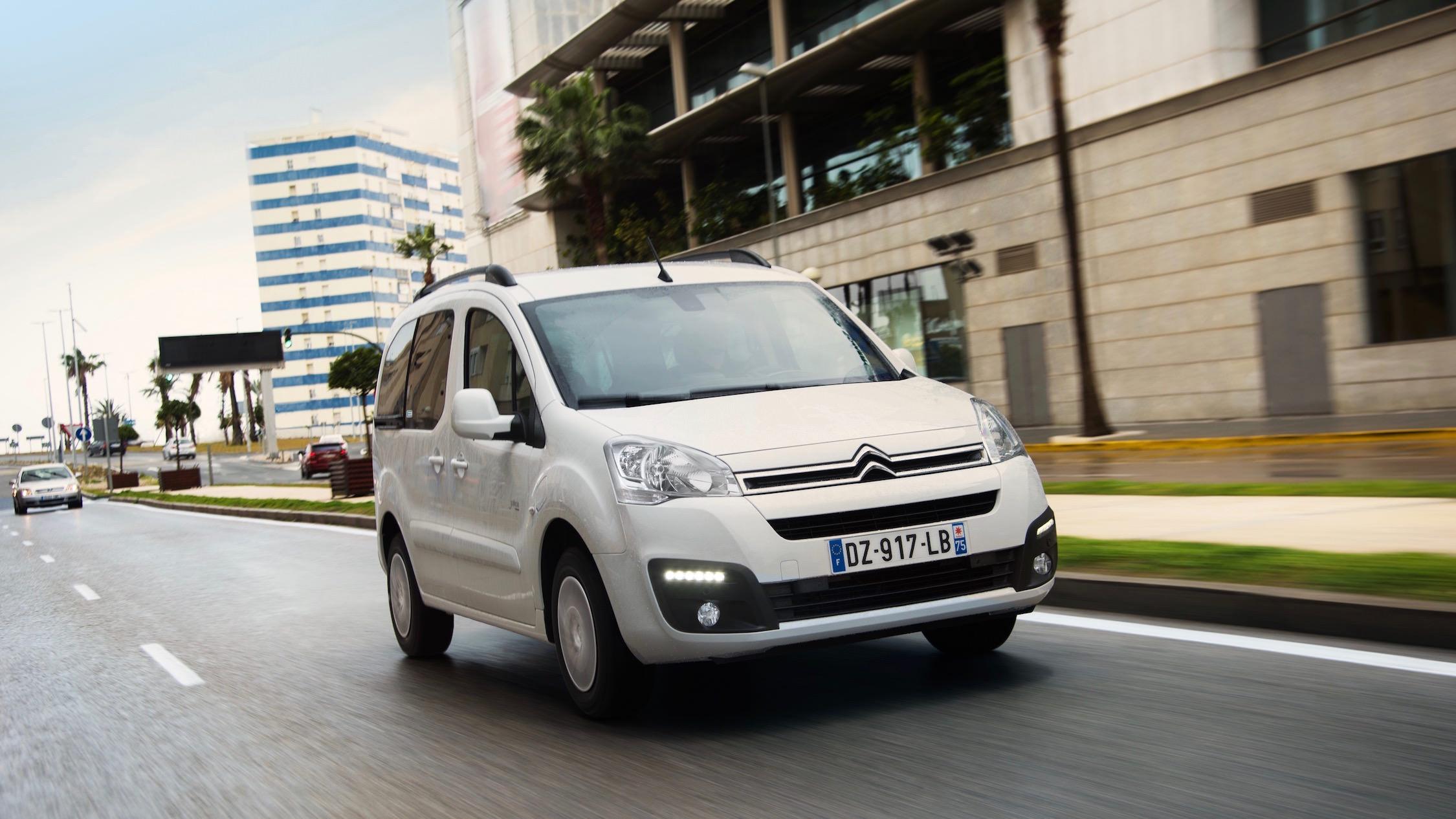 Citroën e-Berlingo voorkant