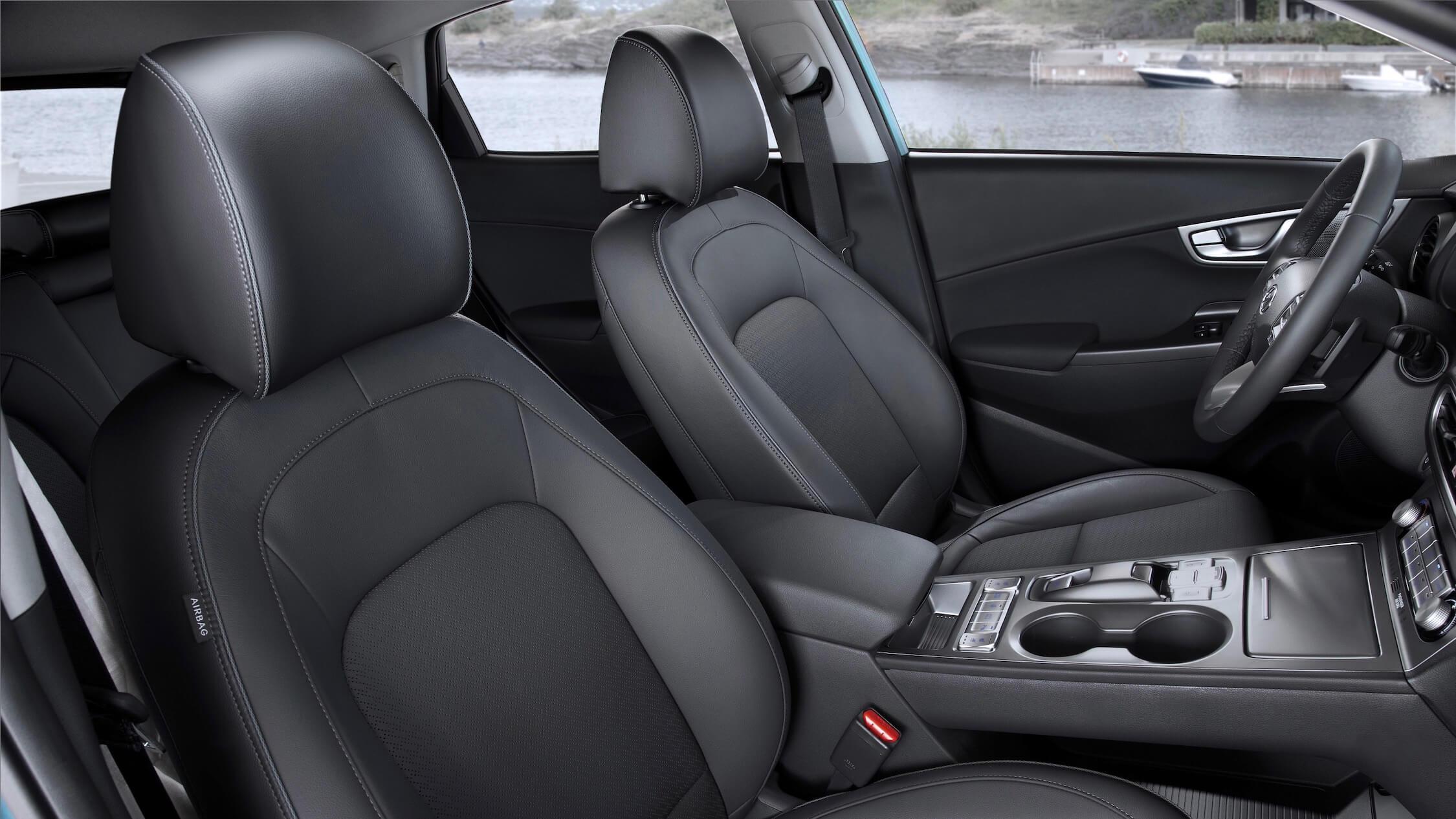 Hyundai Kona EV stoelen