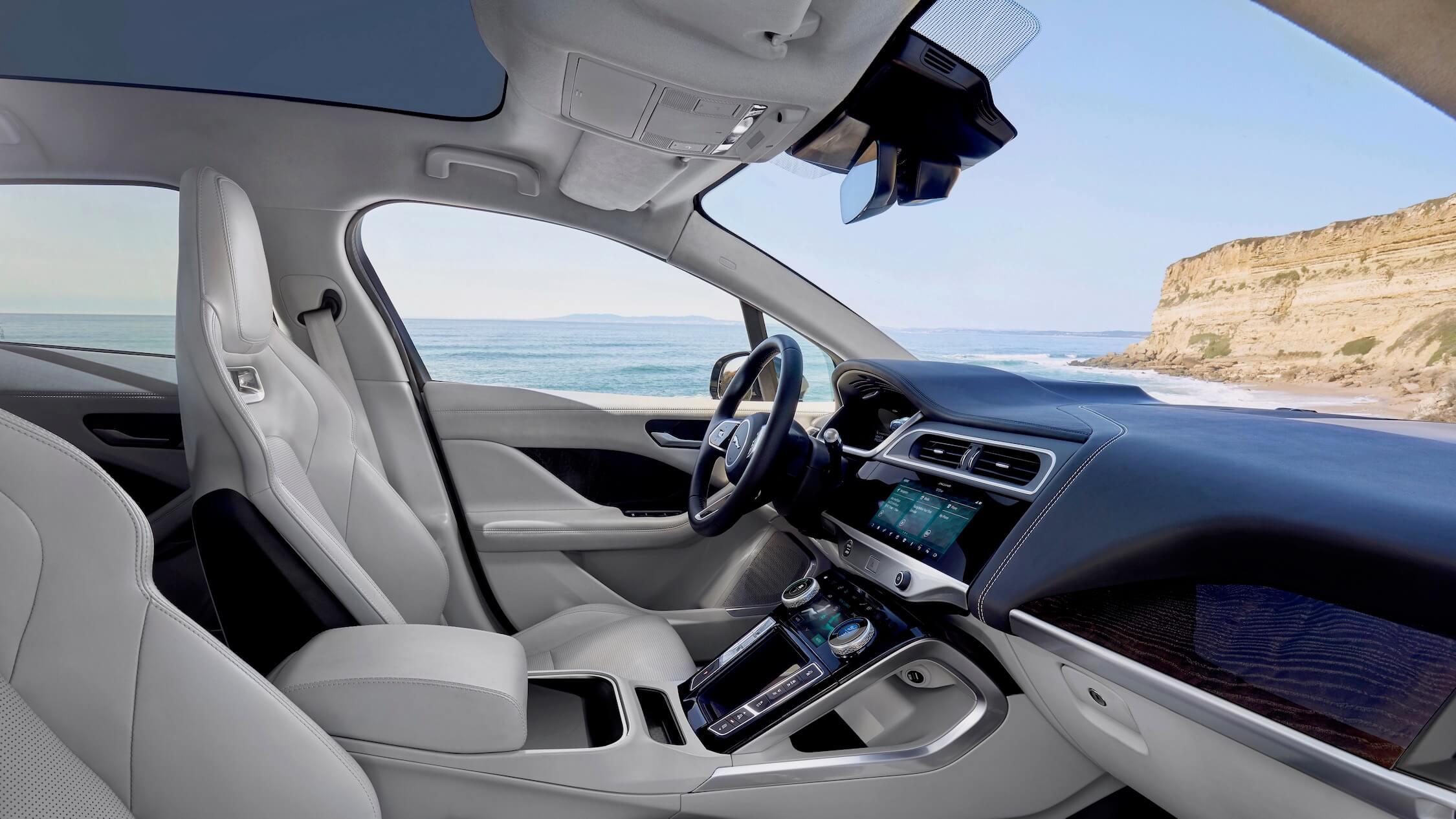 Jaguar I-Pace binnenin