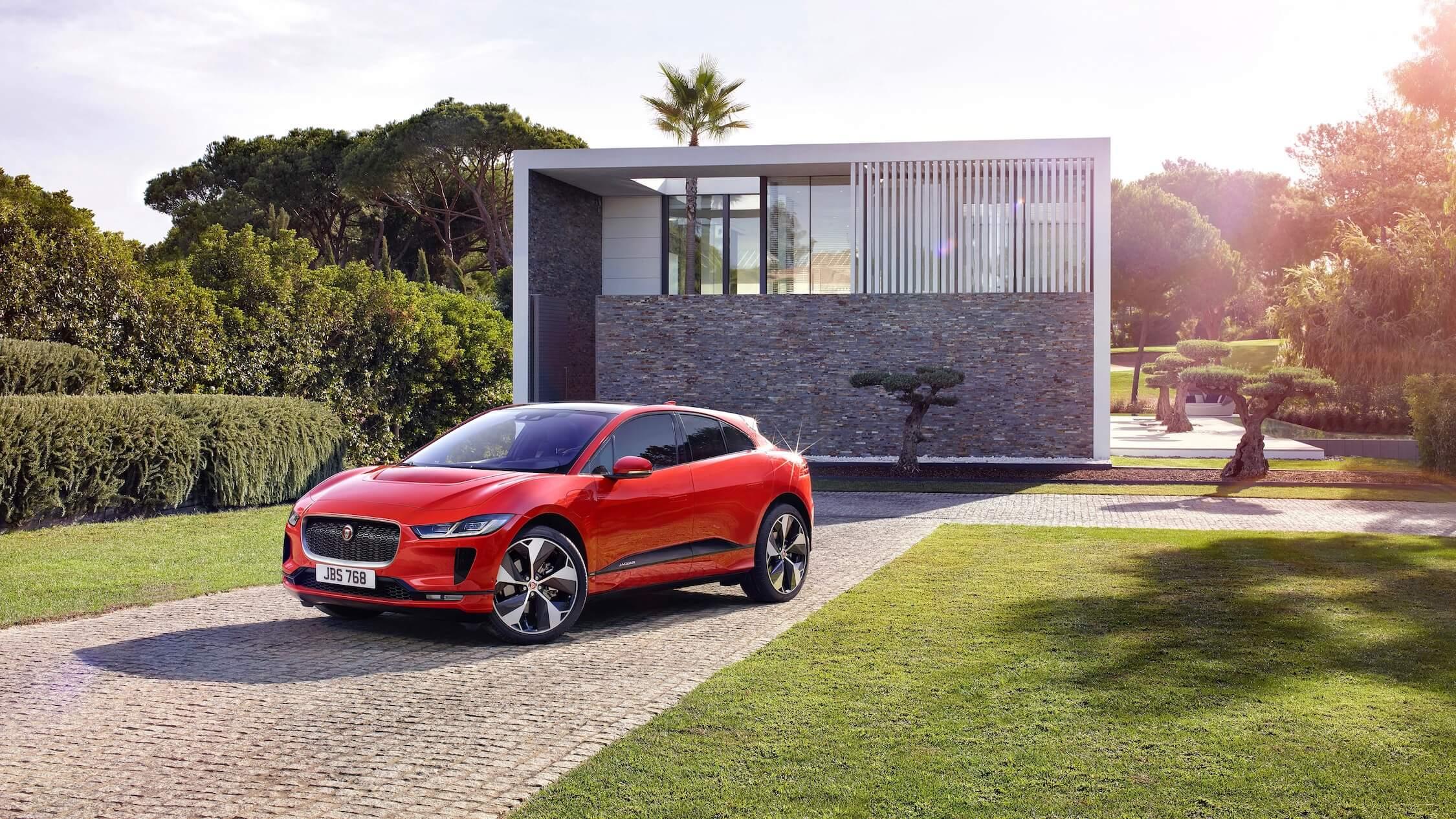 Jaguar I-Pace elektrische suv