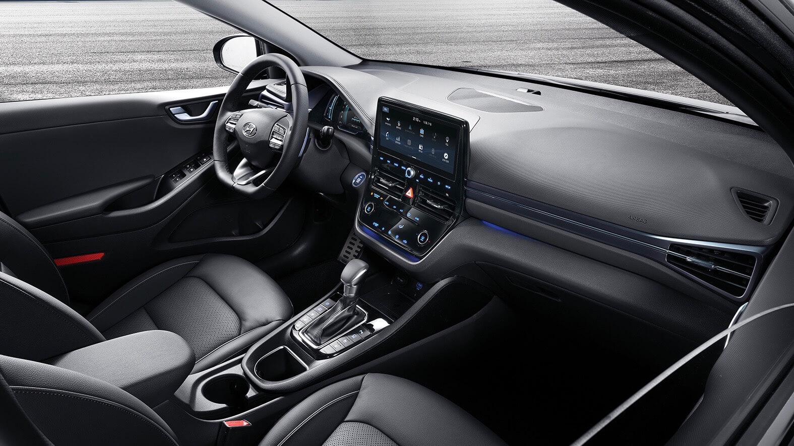 Nieuwe Hyundai Ioniq interieur