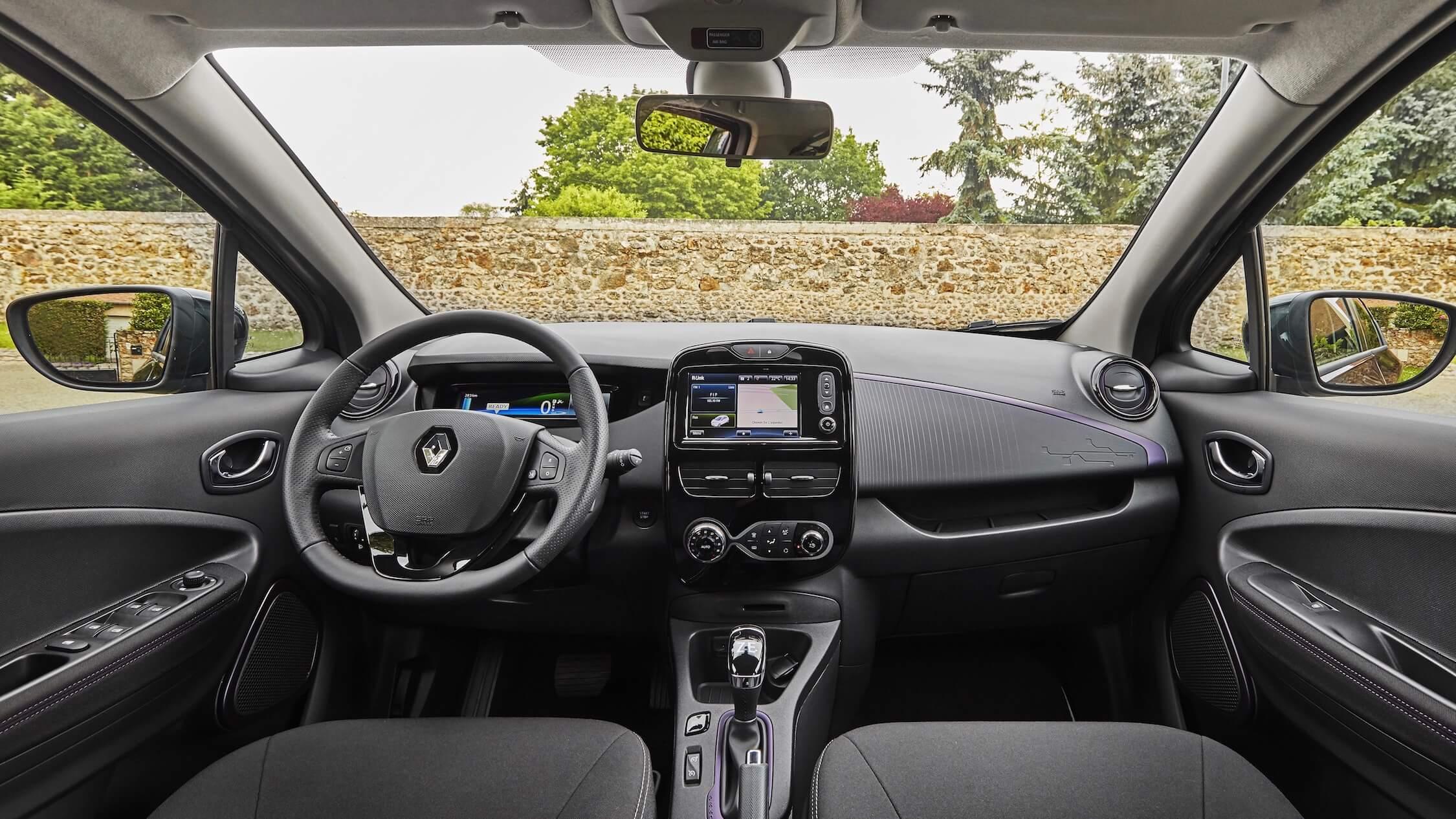 Renault ZOE interieur