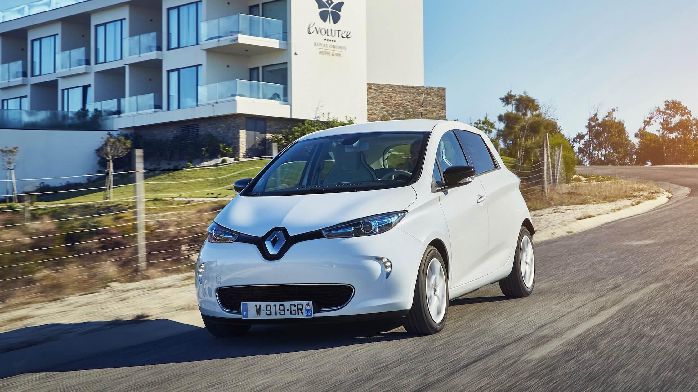 Renault ZOE rijden