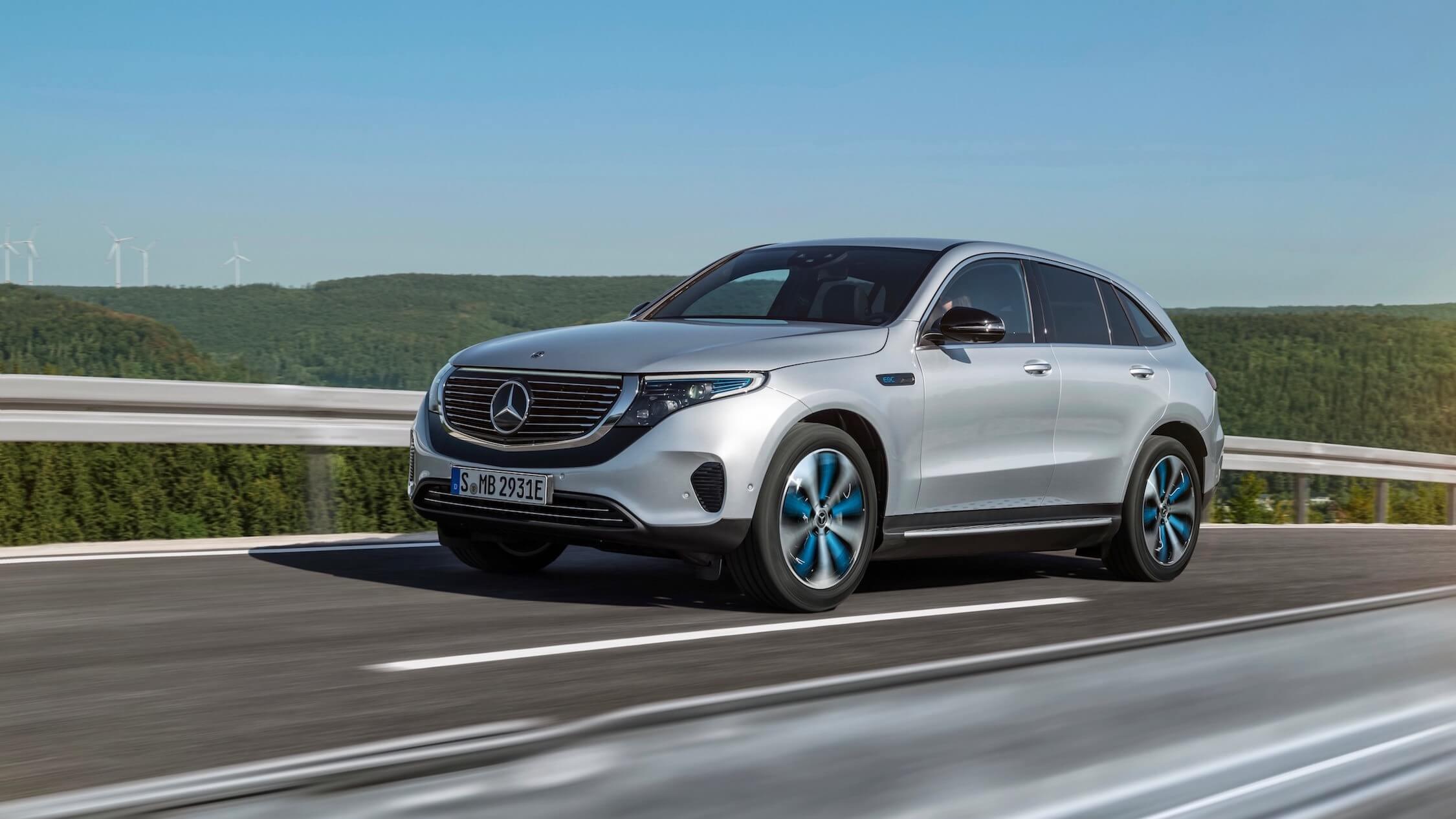 Elektrische Mercedes EQC
