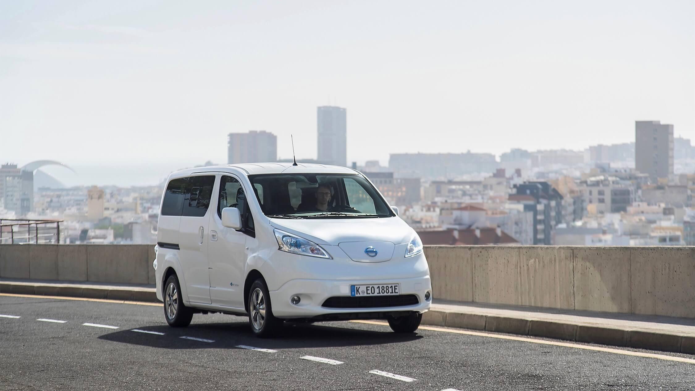 Elektrische Nissan e-NV200