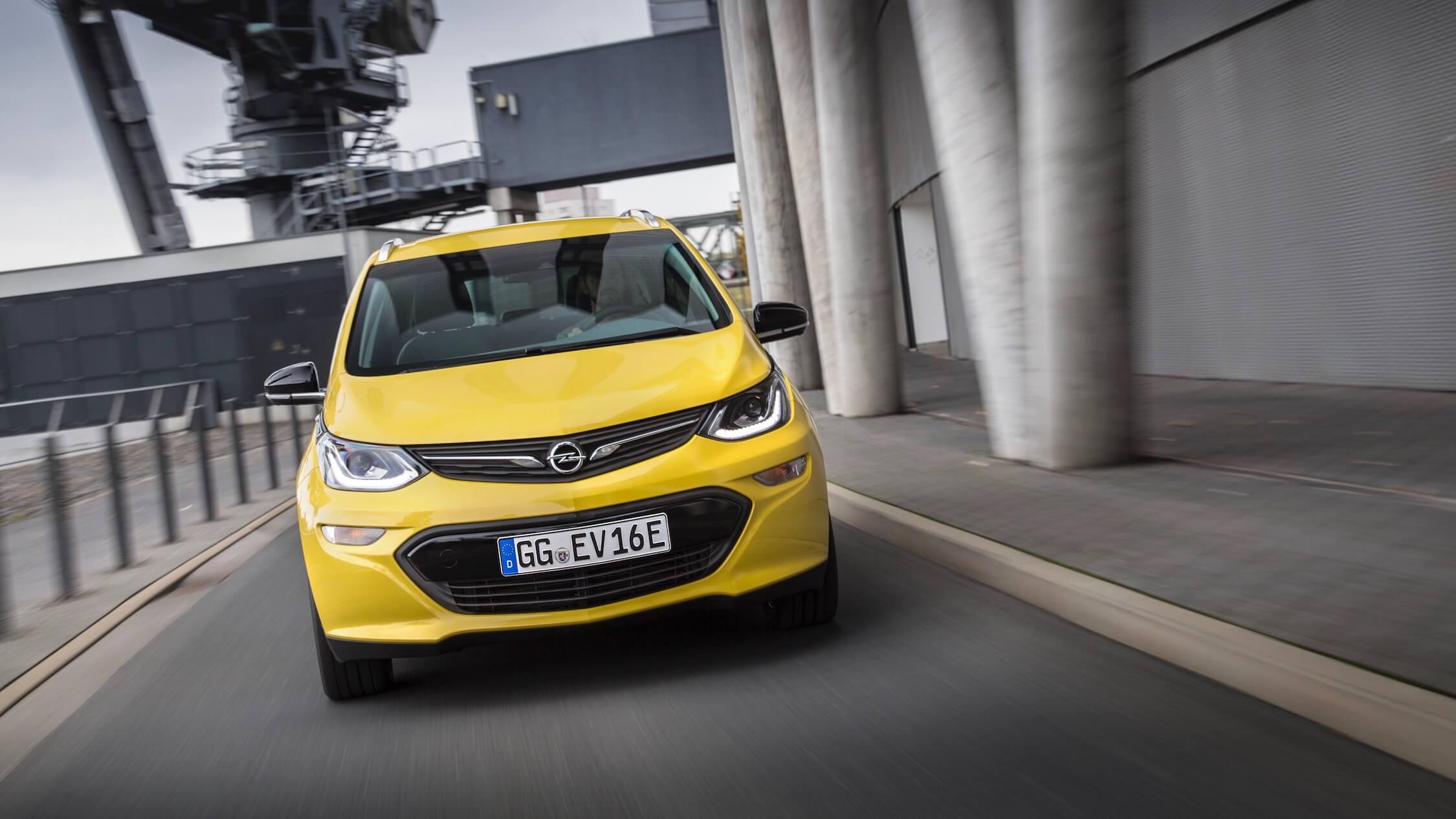 Elektrische Opel Ampera-e