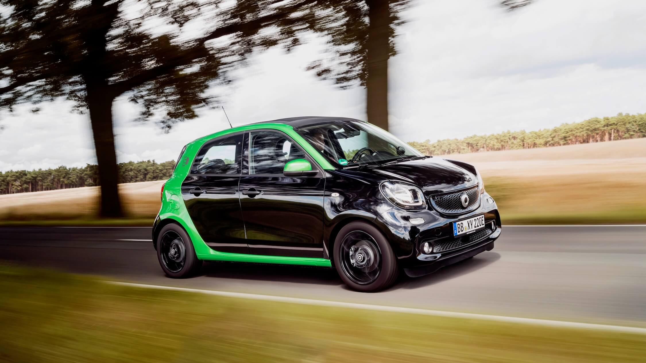 Elektrische Smart forfour