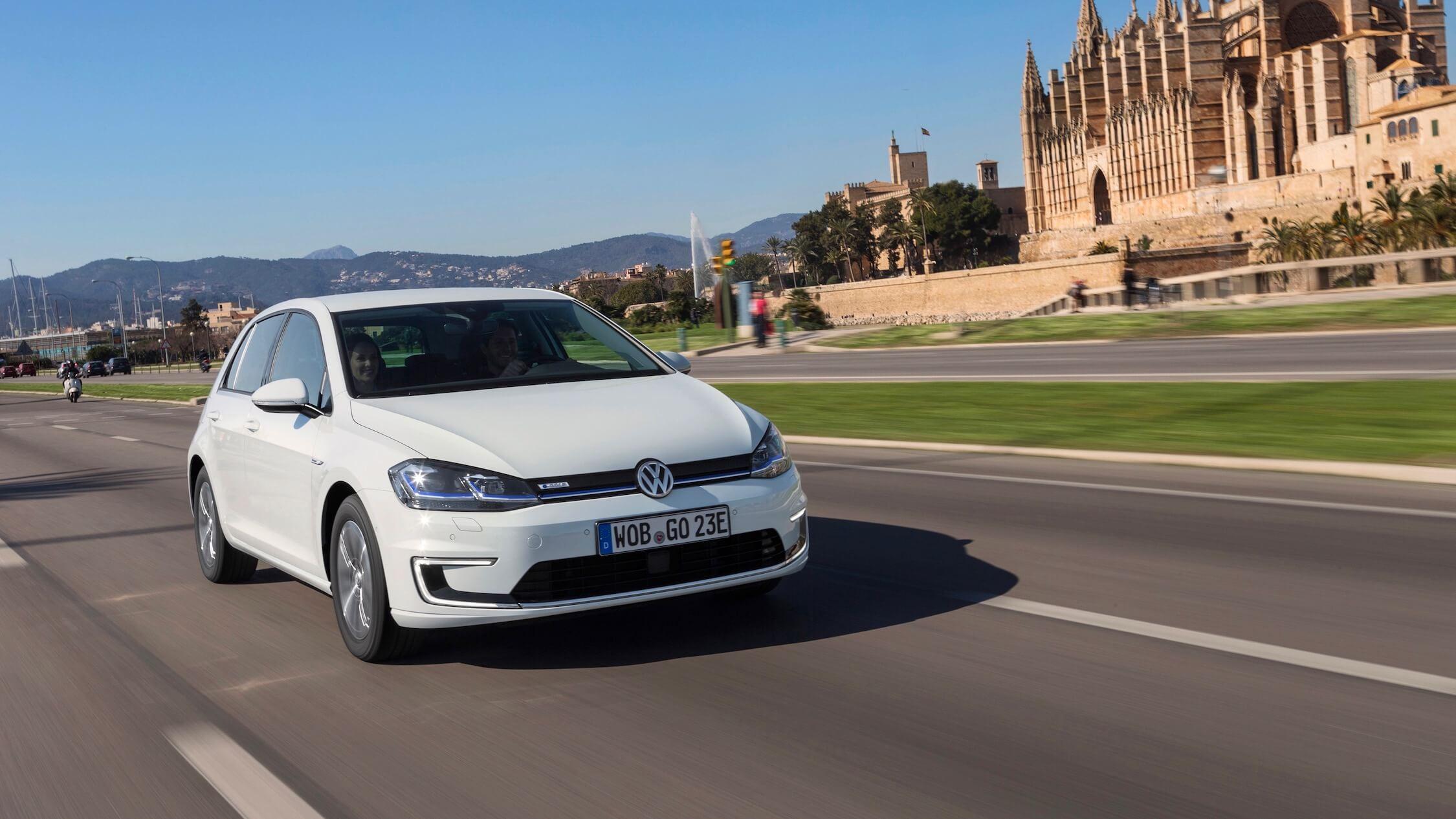 Elektrische Volkswagen Golf