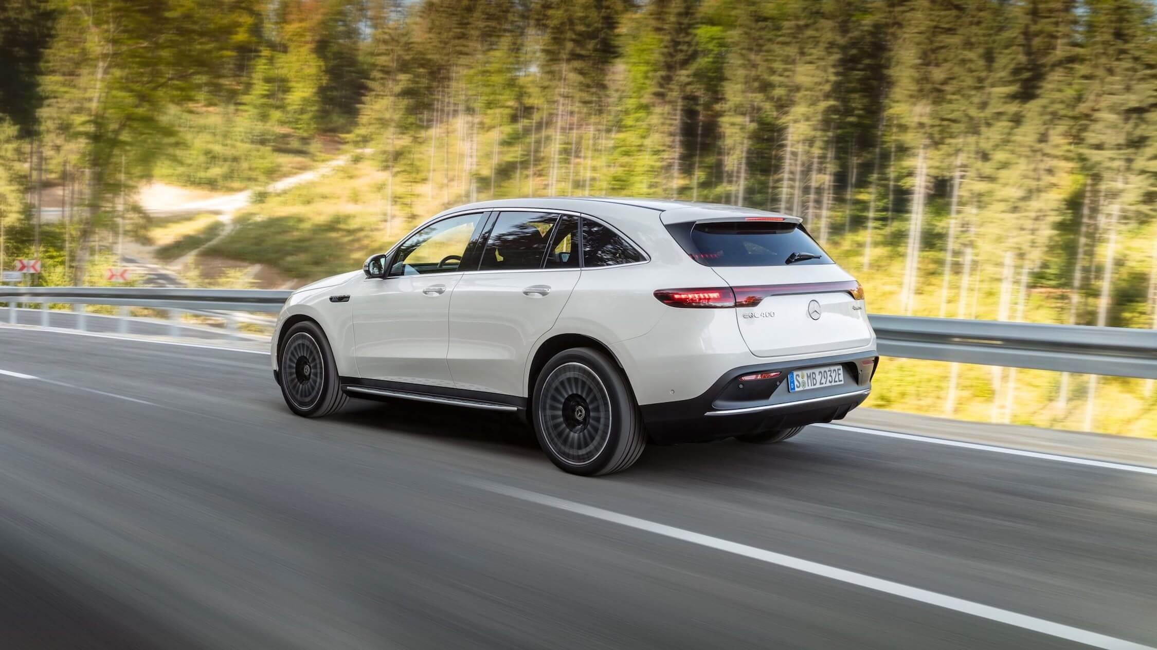 Mercedes EQC elektrisch