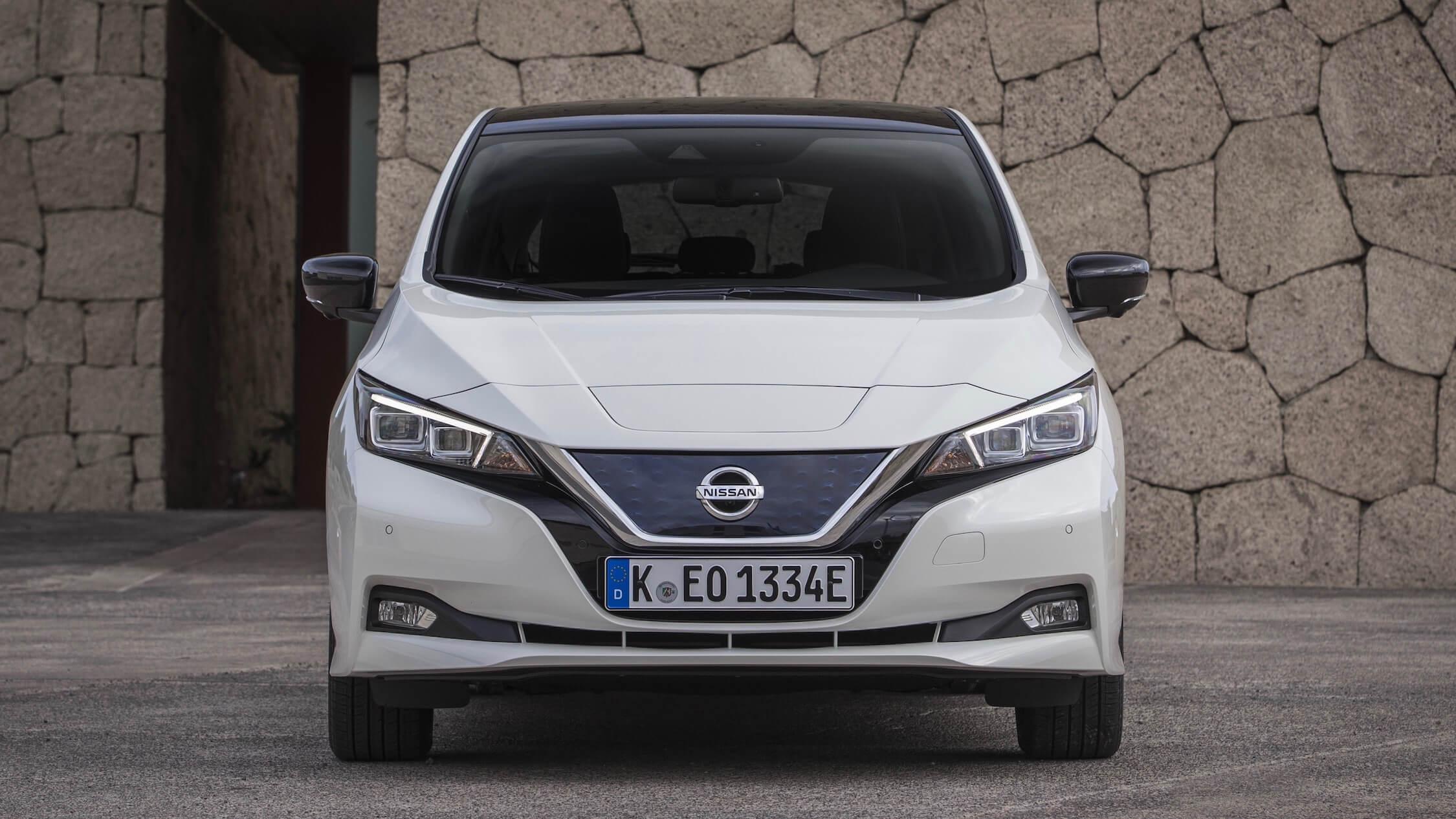 Nissan Leaf voorkant