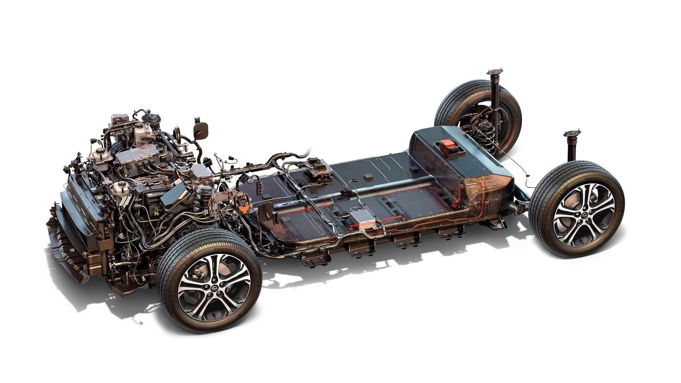 Opel Ampera-e batterij
