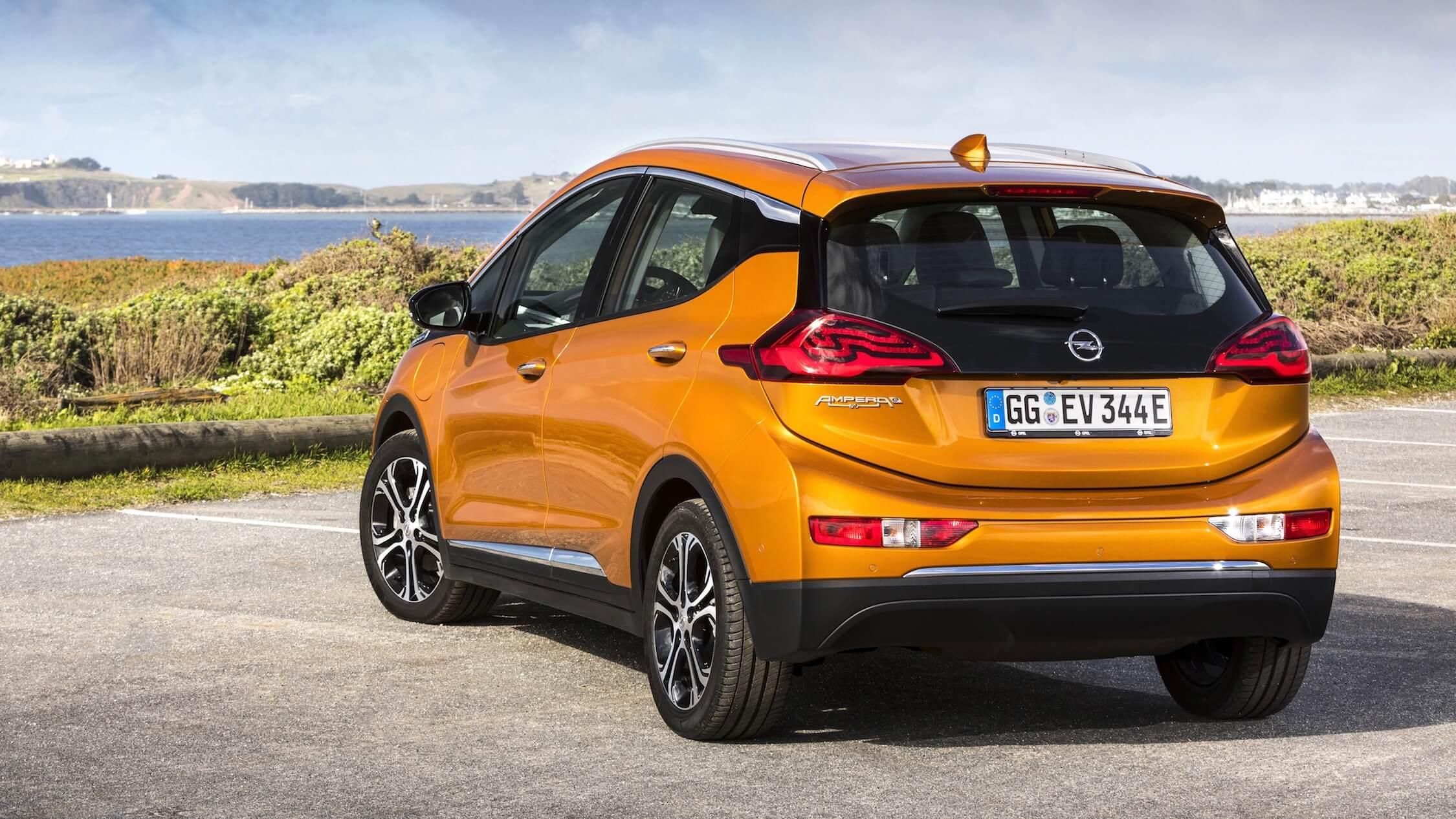 Opel Ampera-e elektrische auto