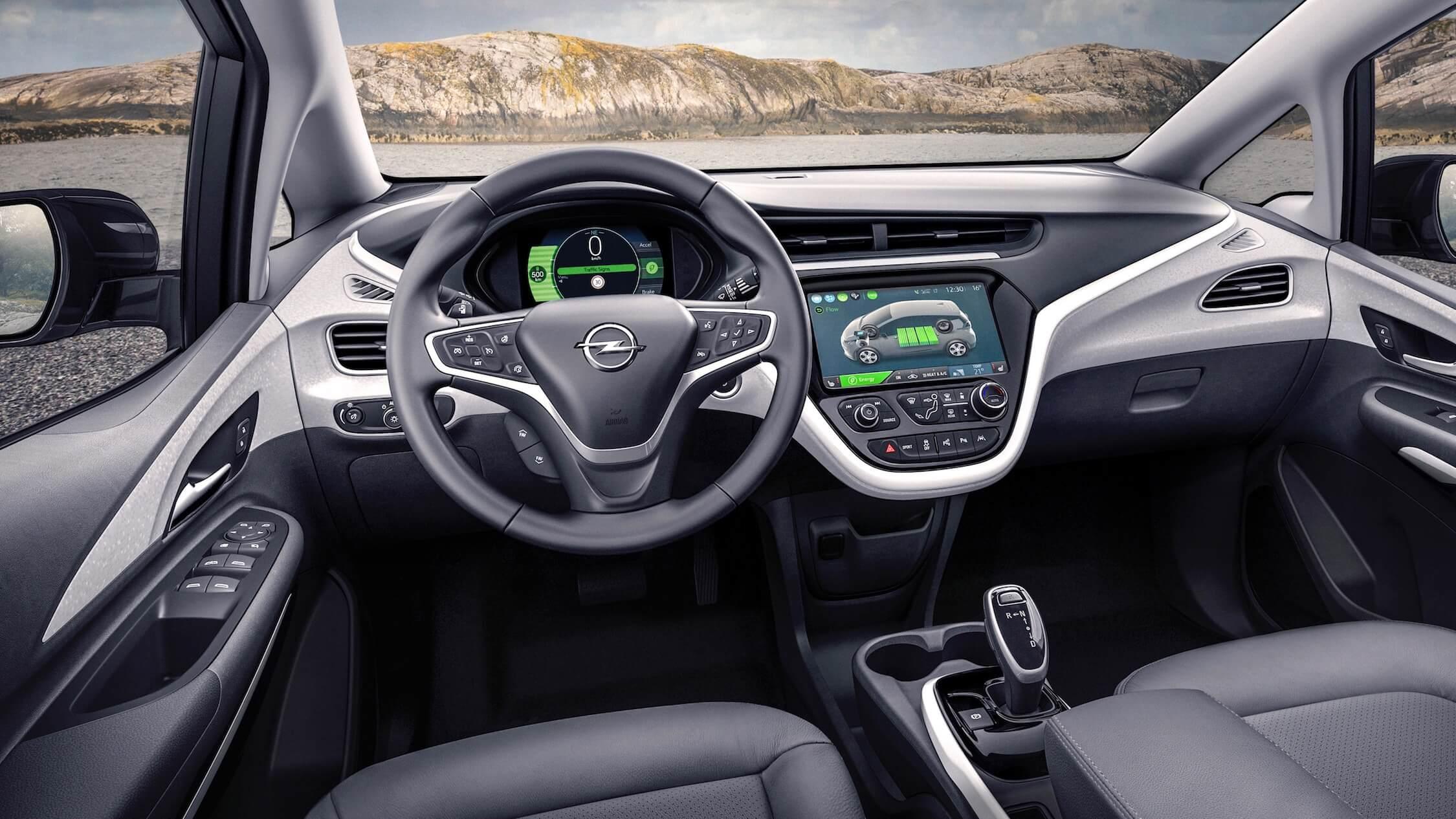 Opel Ampera-e interieur
