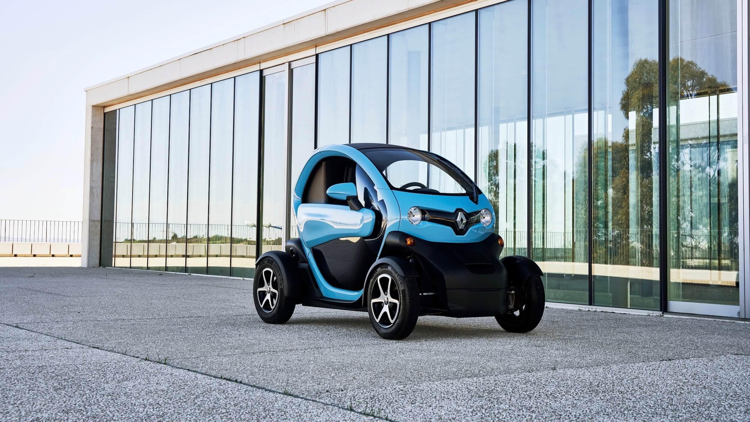 Renault Twizy elektrische stadsauto