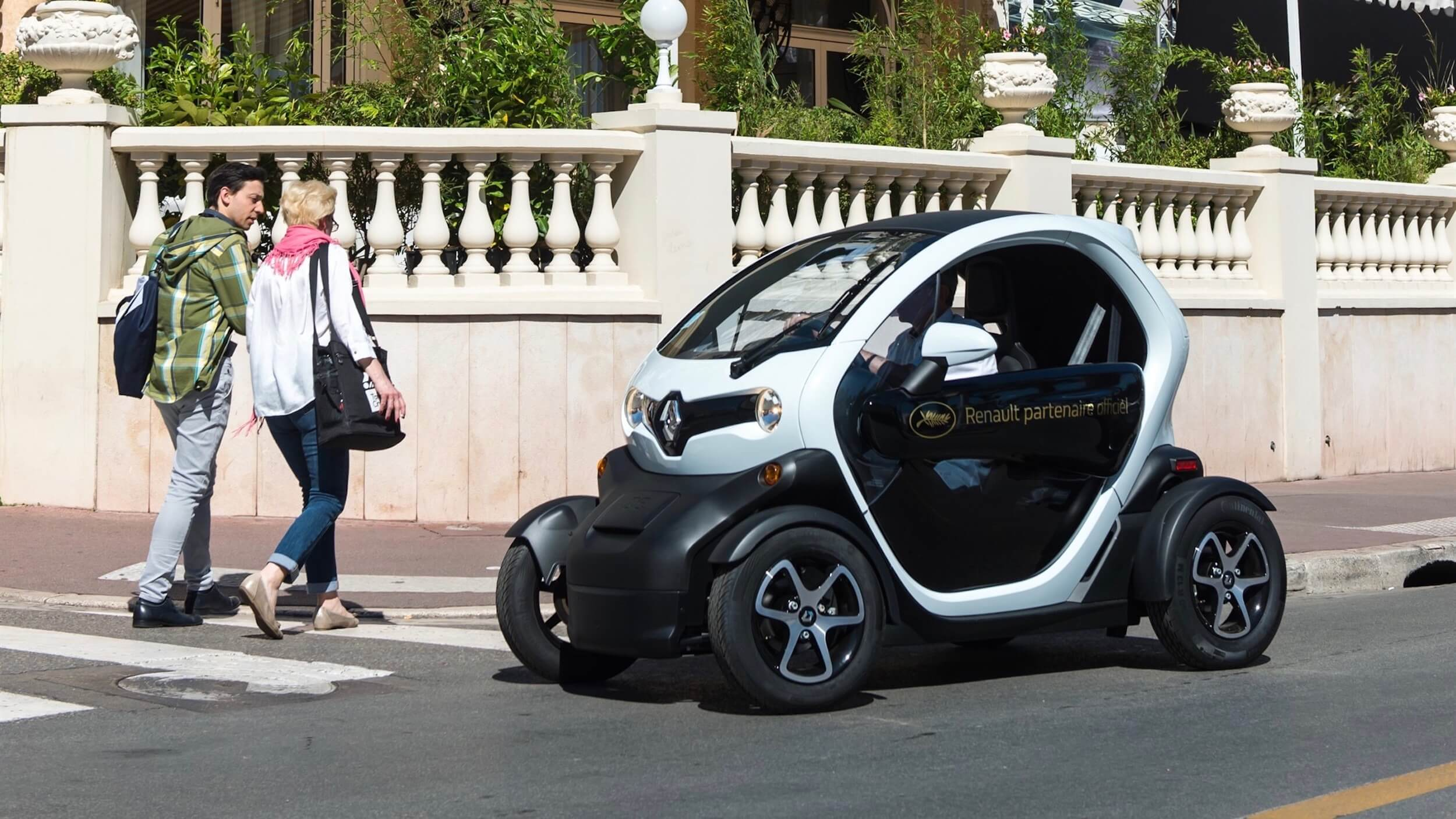 Renault Twizy in stad