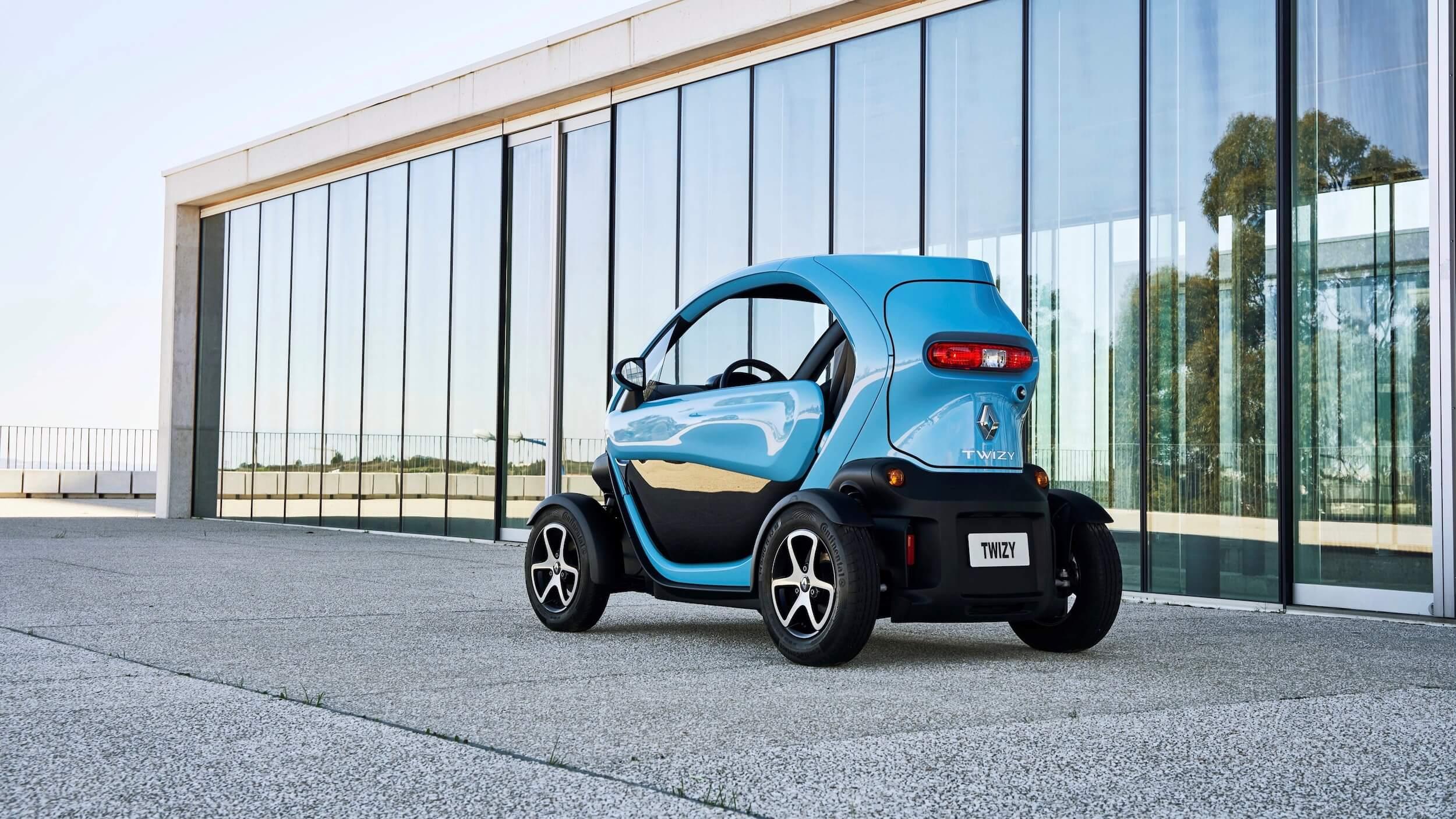 Renault Twizy met laadklep