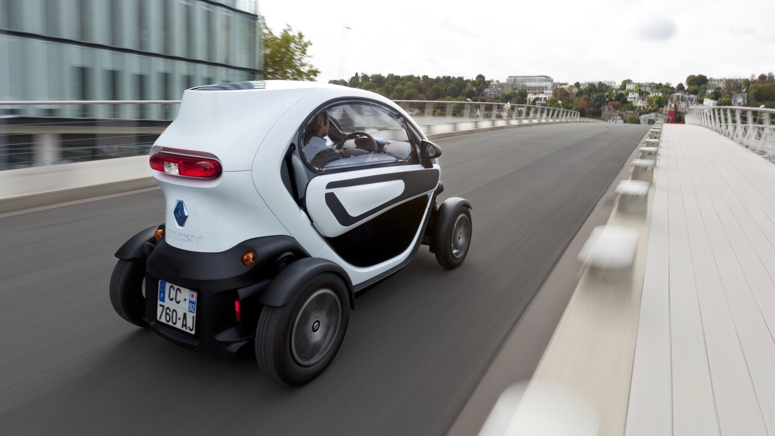 Renault Twizy three quarter view