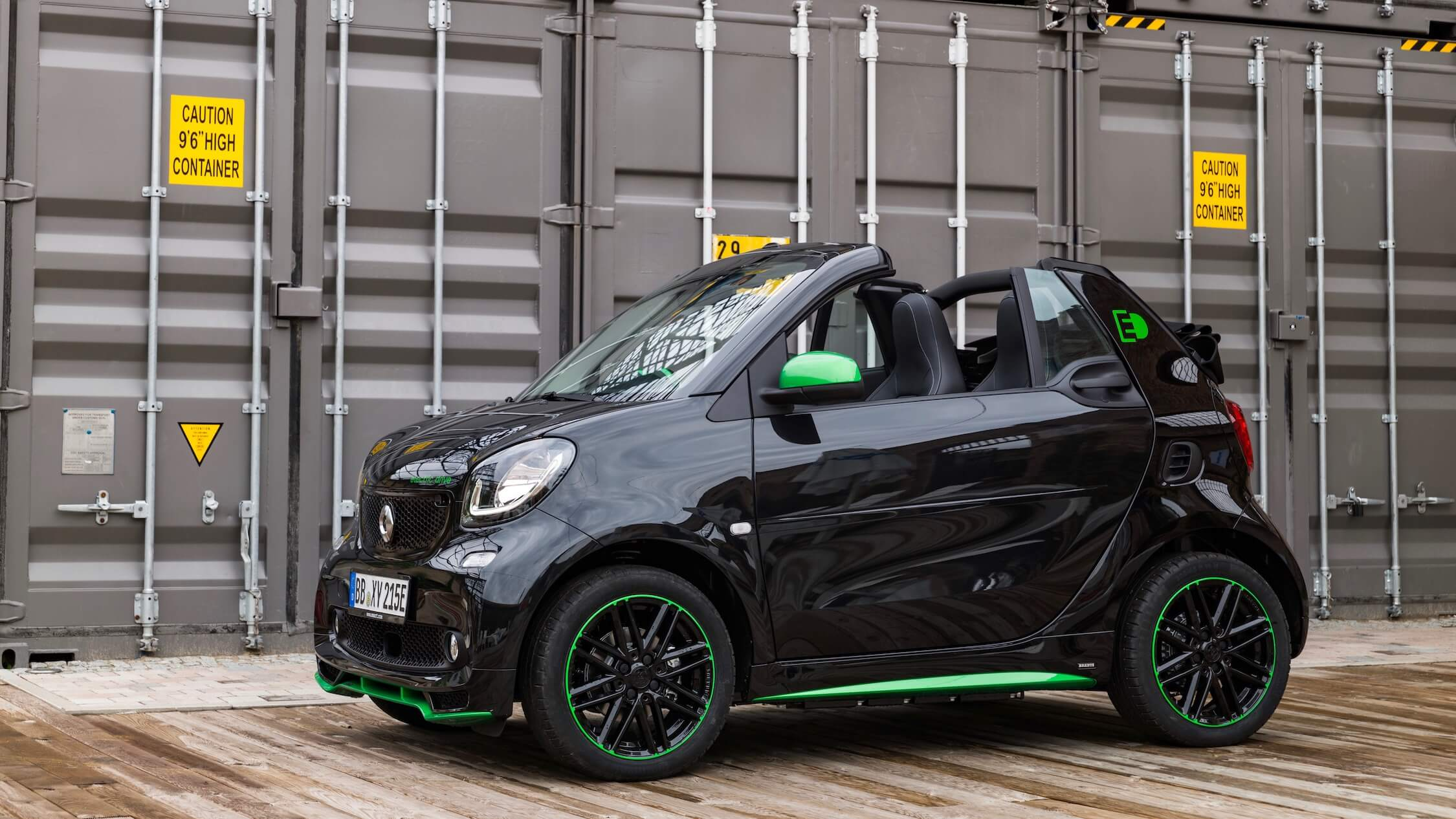 Smart EQ fortwo cabrio
