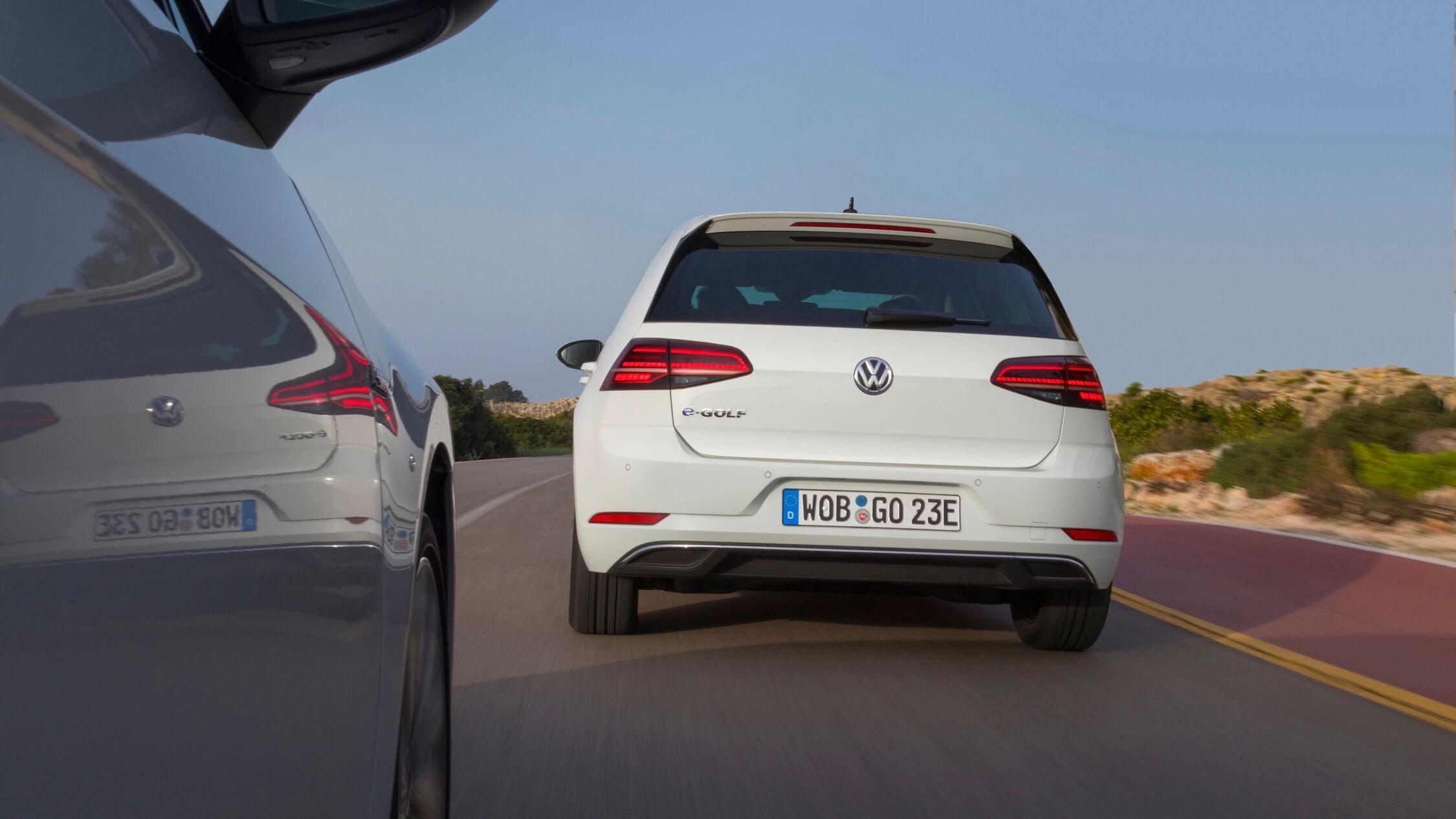 Volkswagen e-Golf achterkant