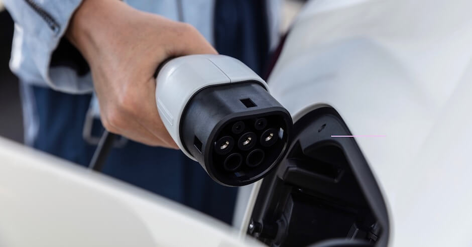 elektrische auto laadplug