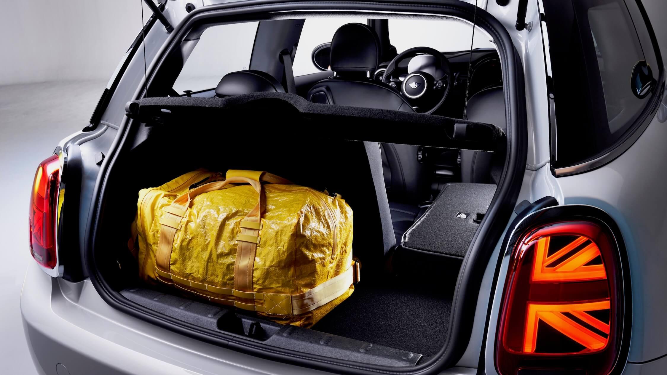 elektrische Mini Cooper koffer