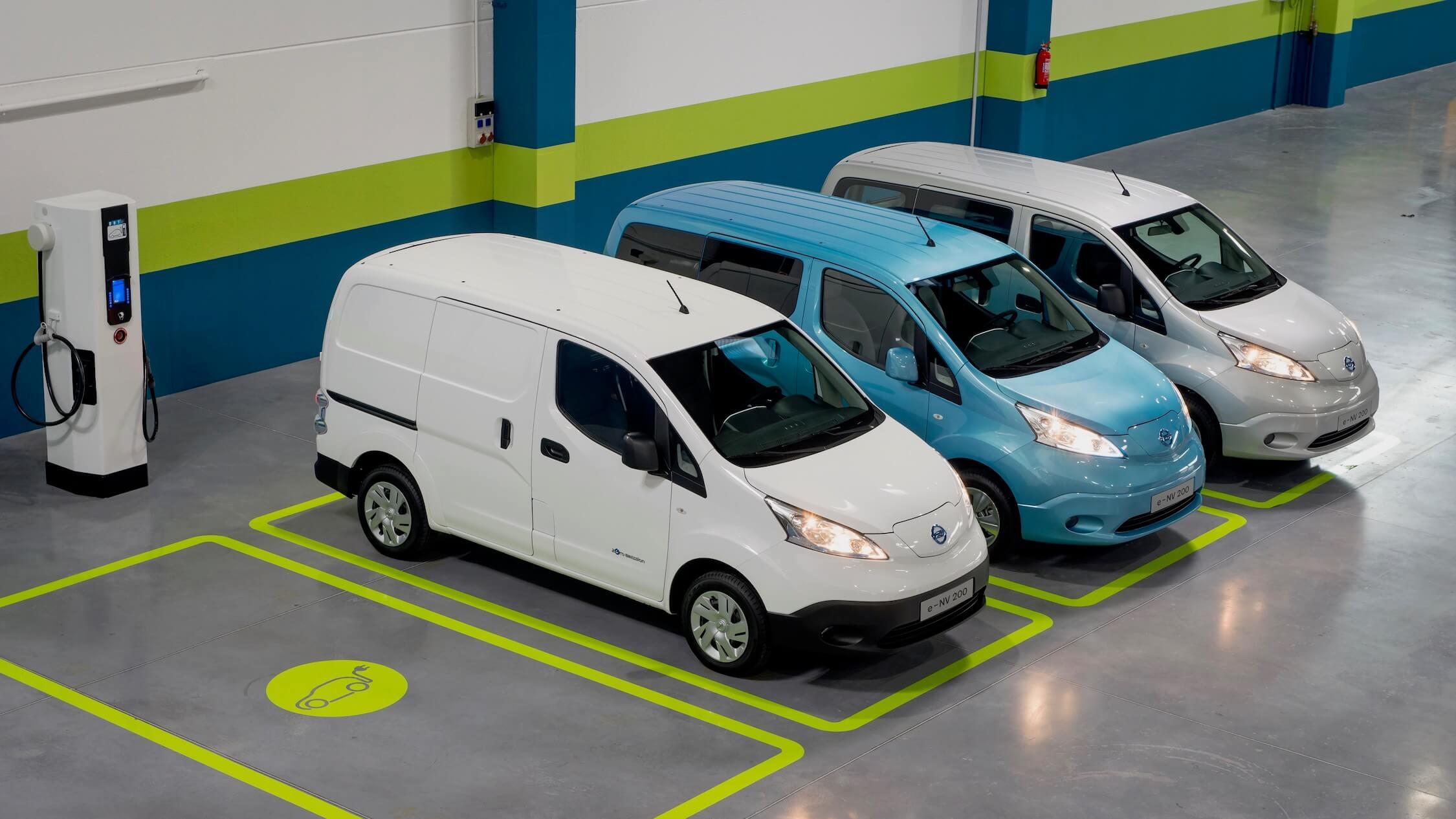 Nissan elektrische bestelauto s