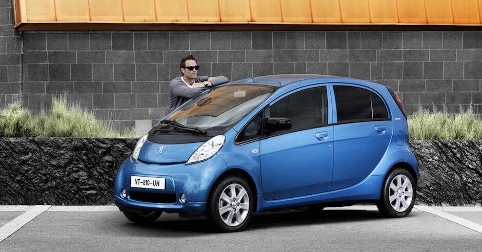Peugeot iOn elektrische auto