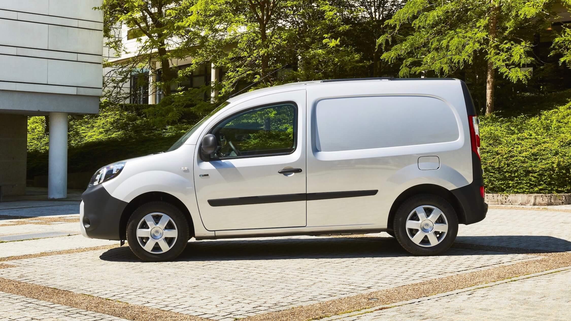 Renault Kangoo ZE grijs