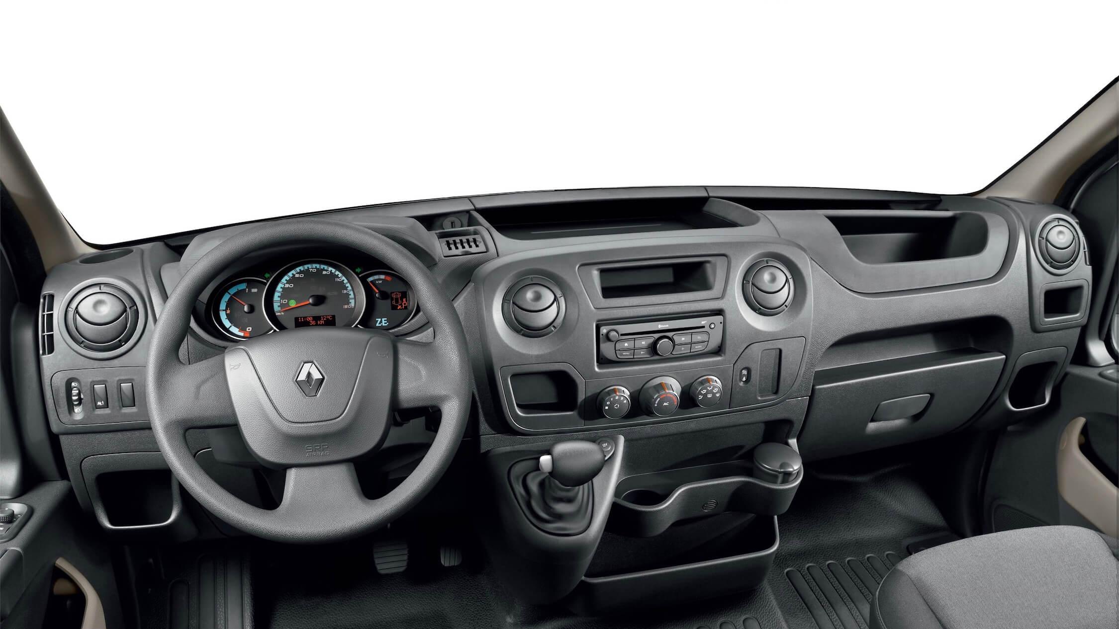 Renault Master interieur