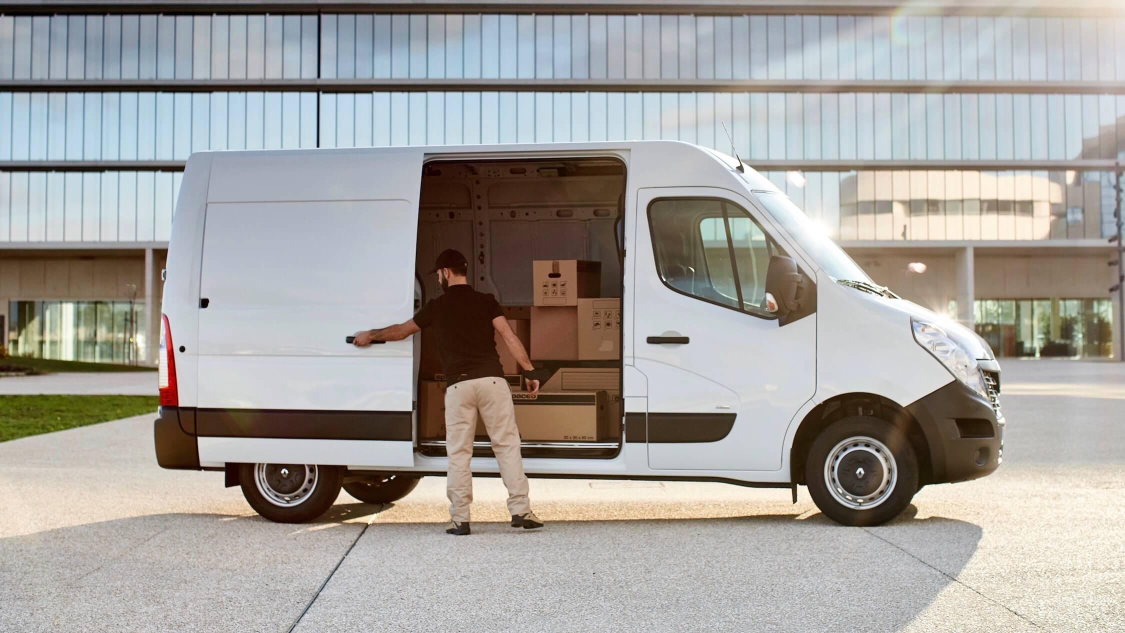 Renault Master profiel