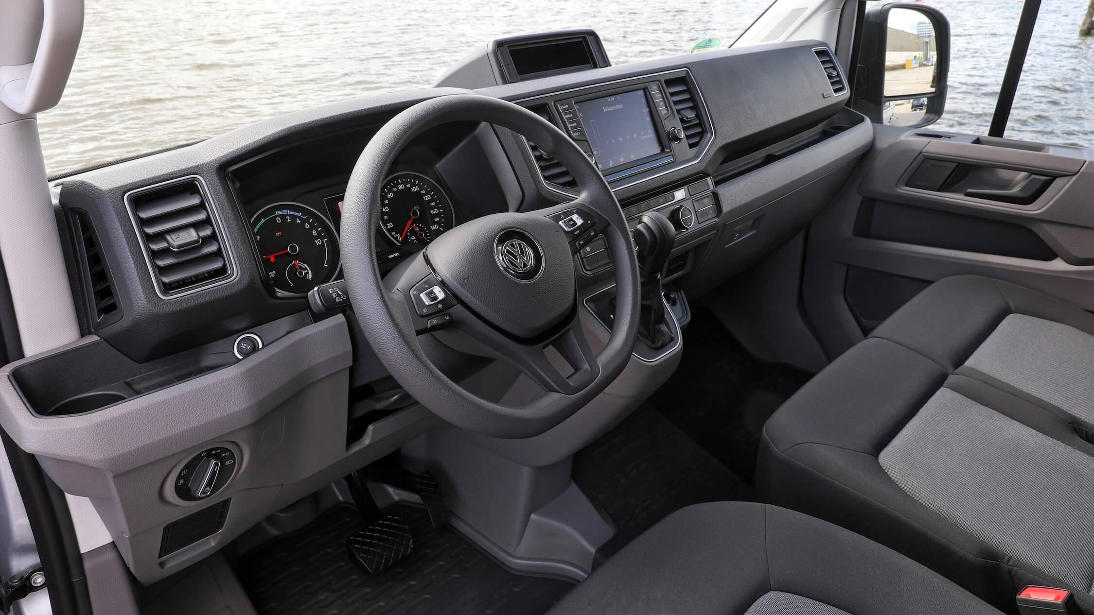 VW Crafter interieur