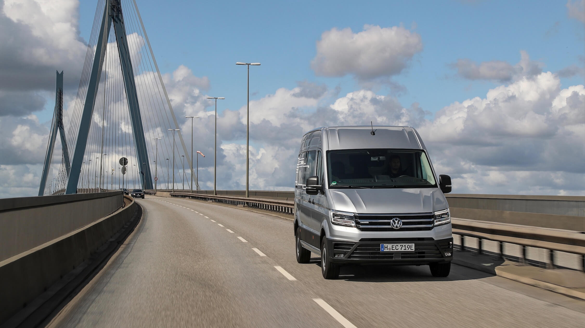 VW Crafter voorkant