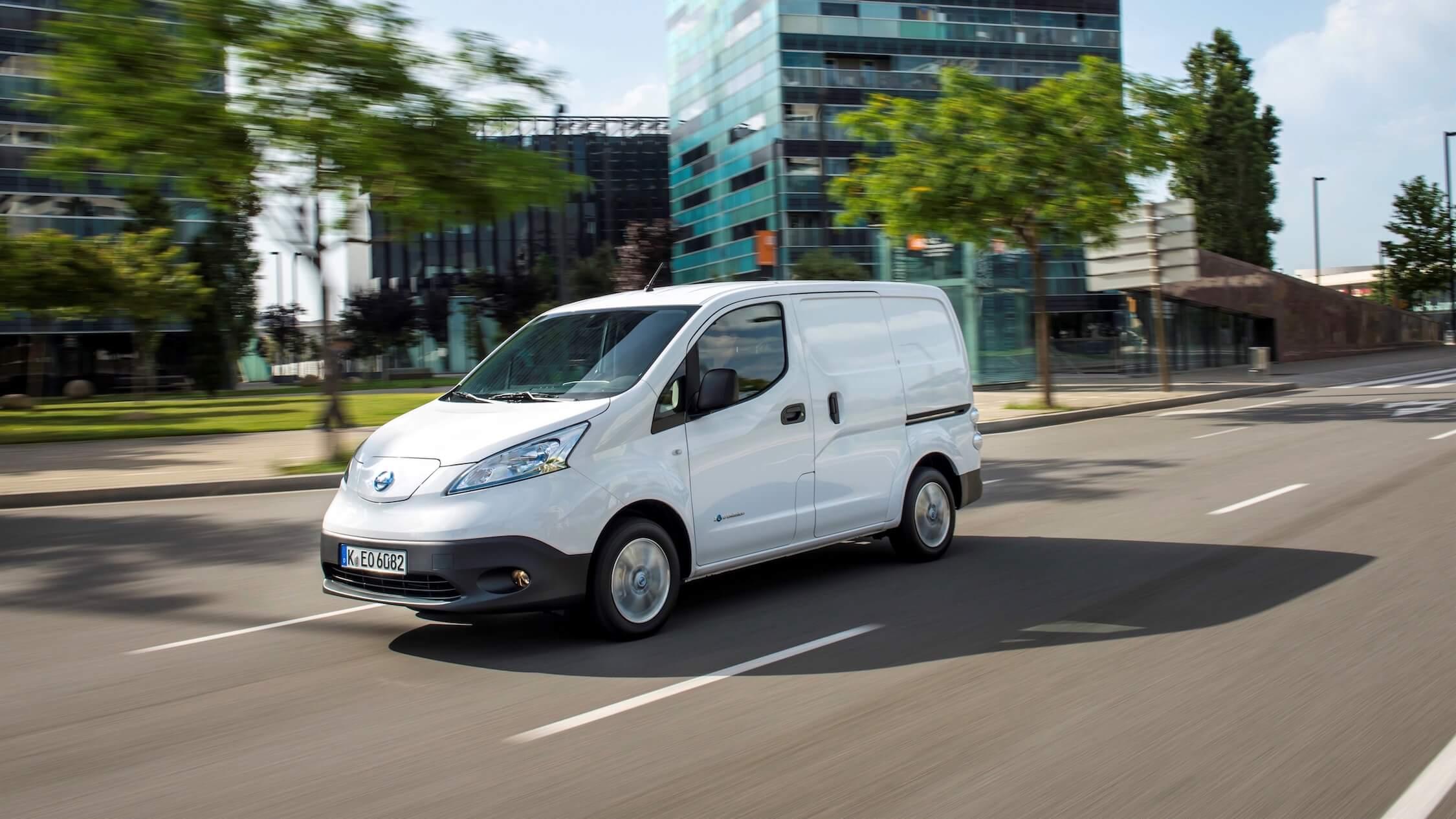 elektrische Nissan bestelwagen