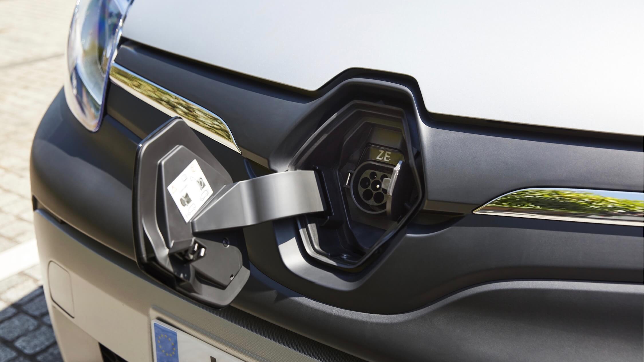 elektrische Renault Kangoo ZE laden