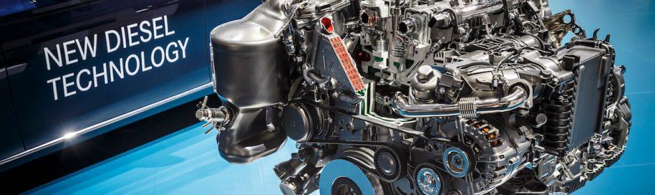 nieuwe dieselmotor Mercedes