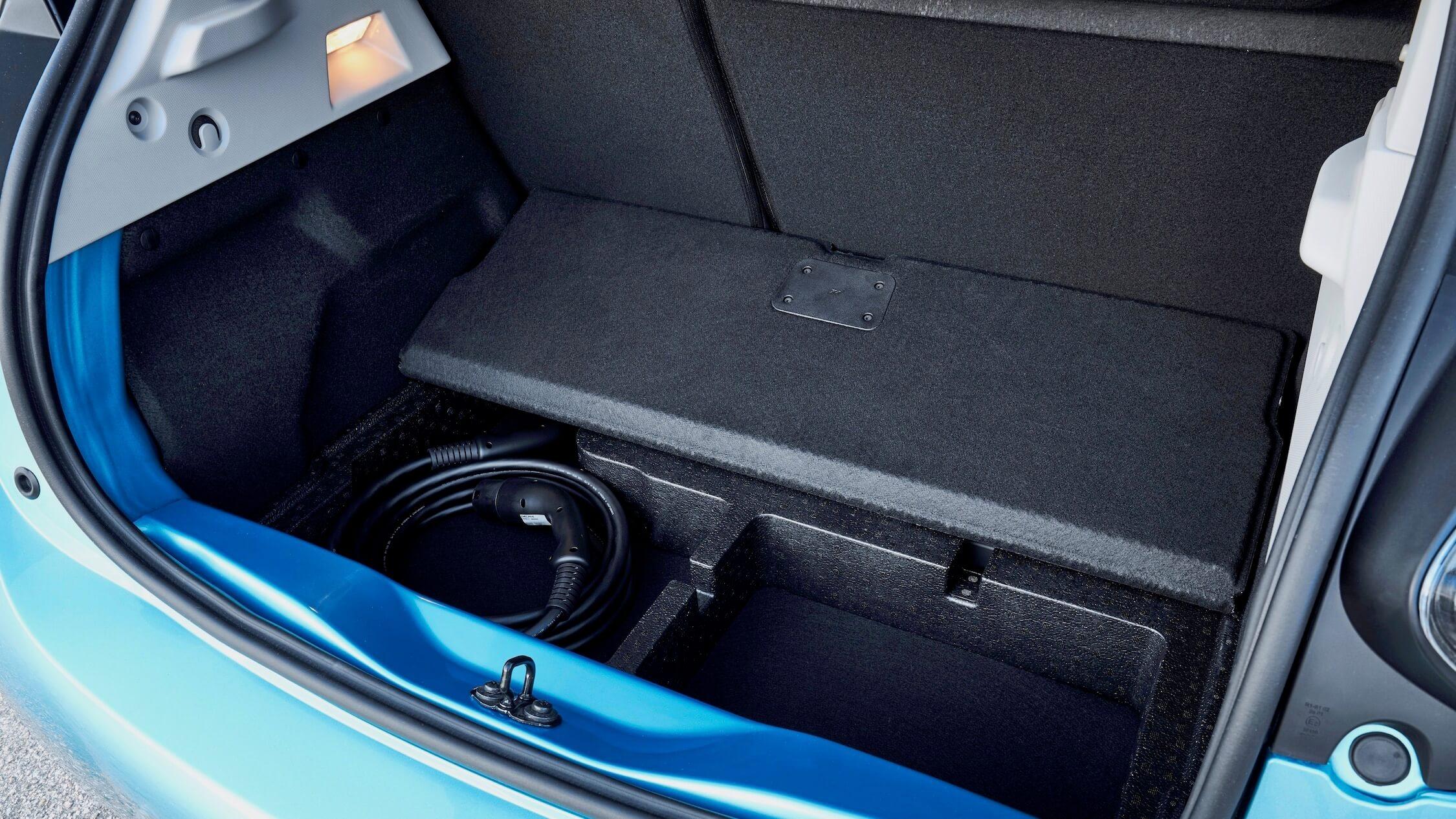 Nieuwe Renault Zoe koffer