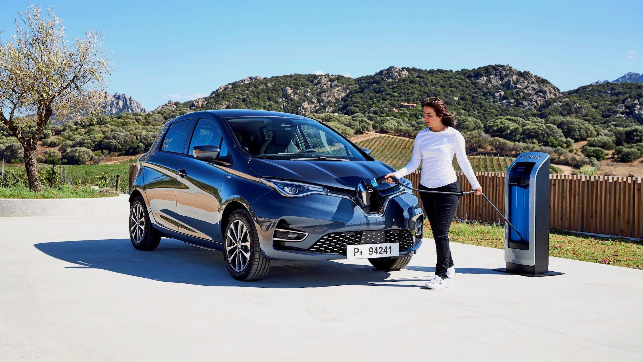 Nieuwe Renault Zoe laden