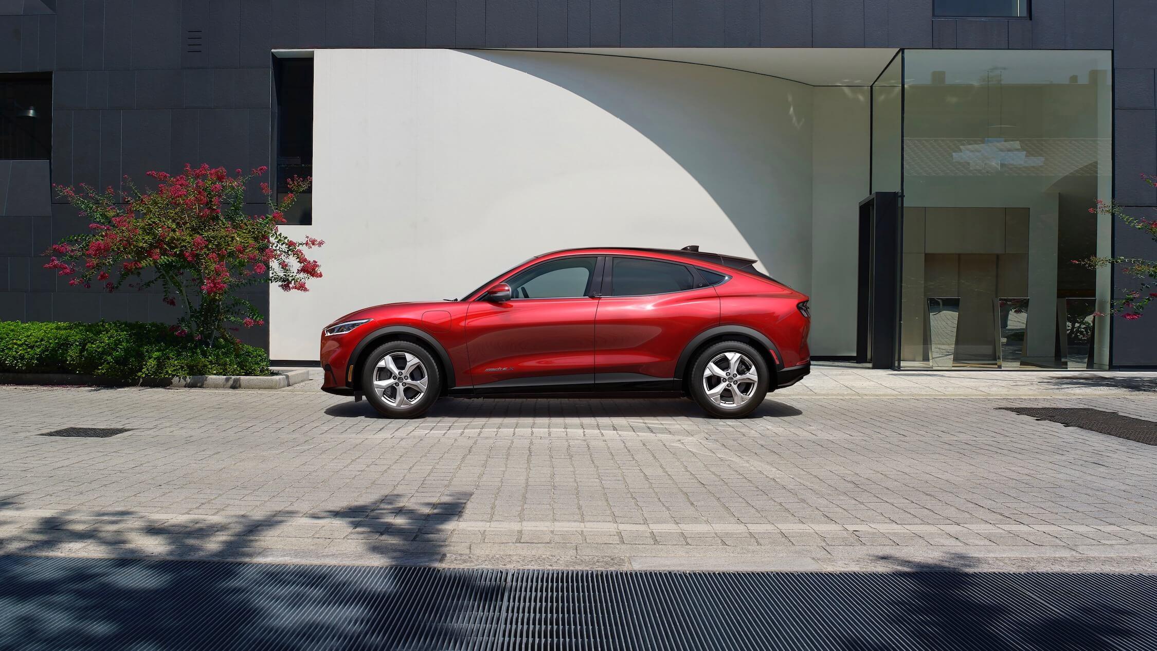 Ford Mustang Mach-E elektrische SUV