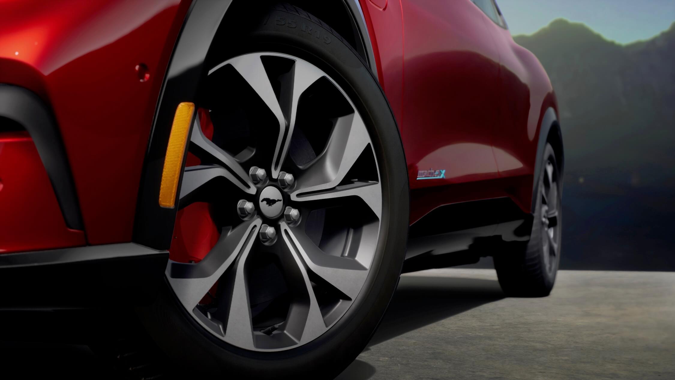 Ford Mustang Mach-E wielen