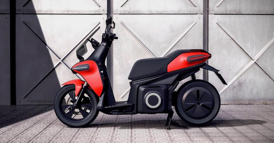 Seat elektrische scooter