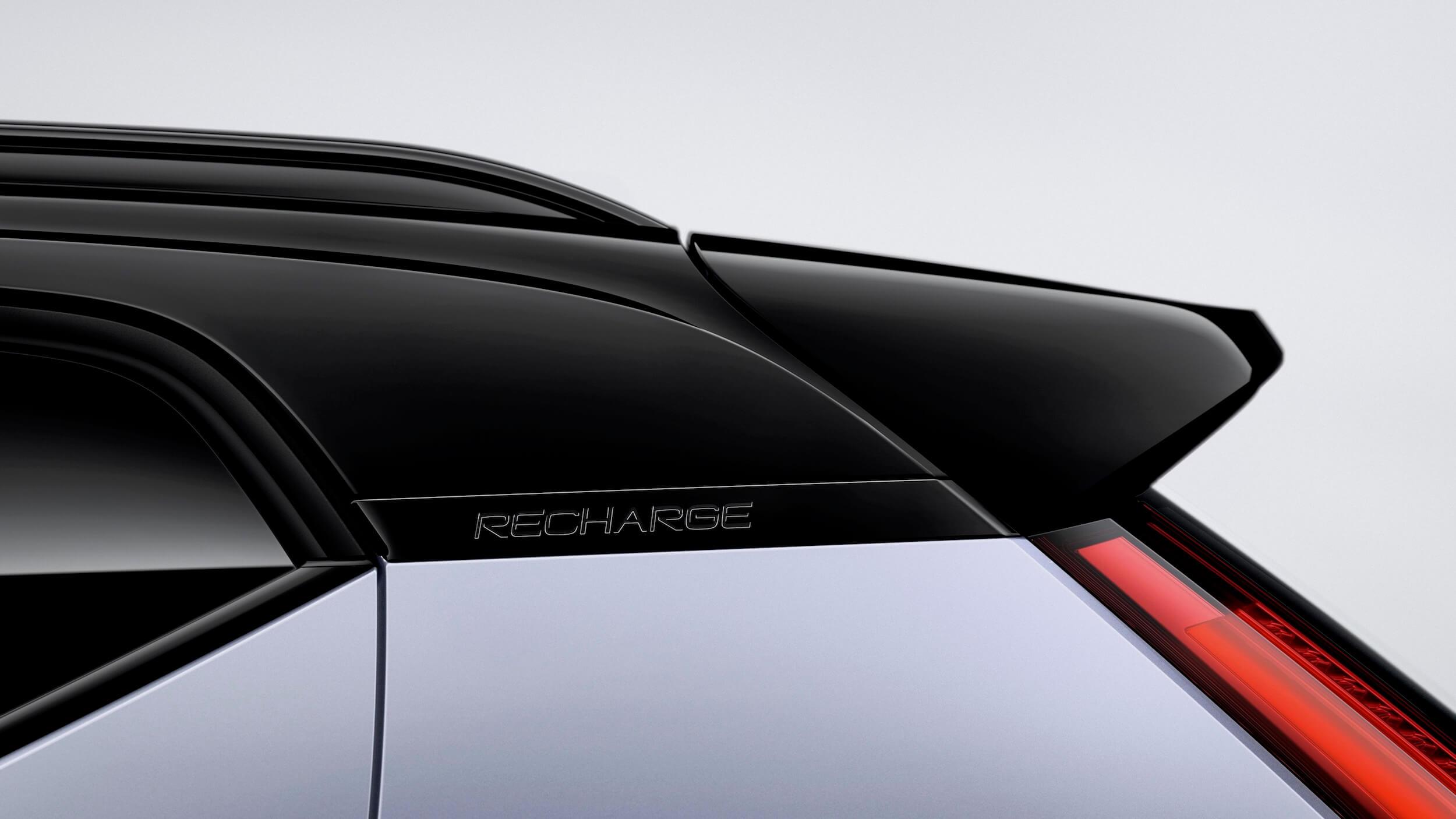 Volvo XC40 Recharge dakstijl