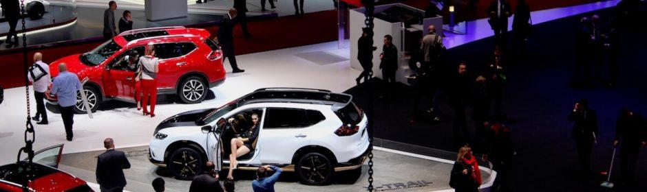autos op Geneva Motorshow