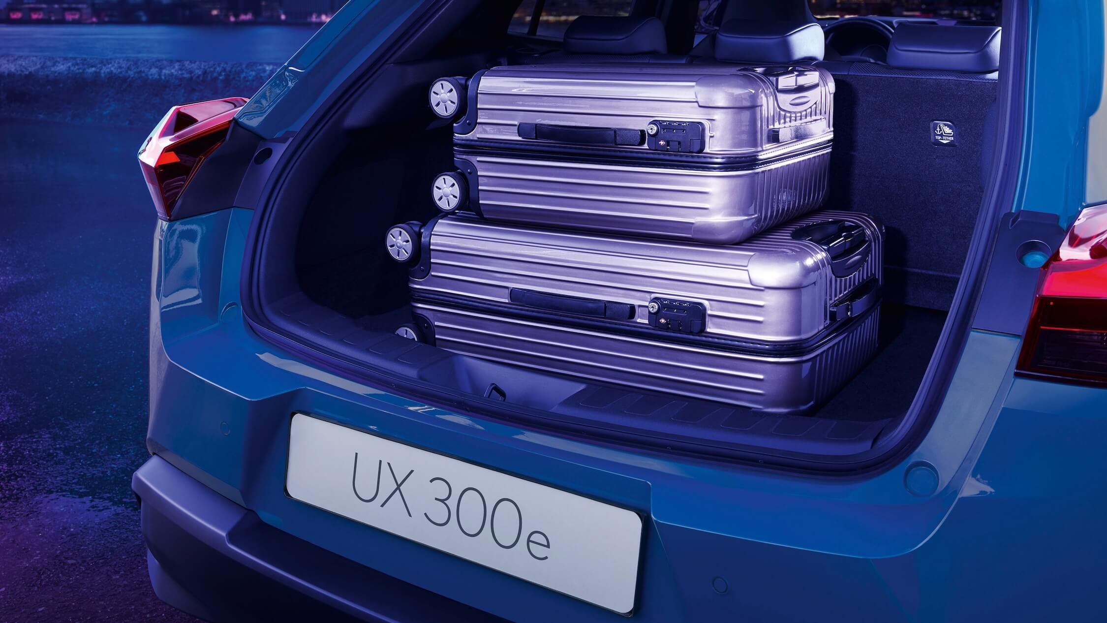 elektrische Lexus UX 300e laadruimte