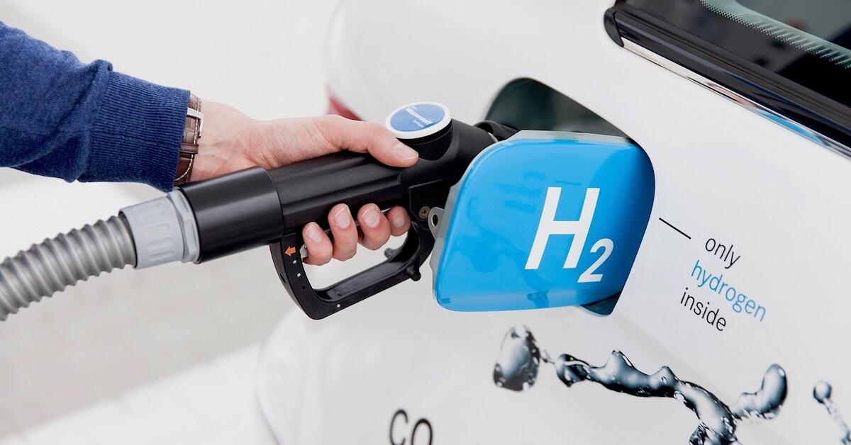 waterstof in auto tanken